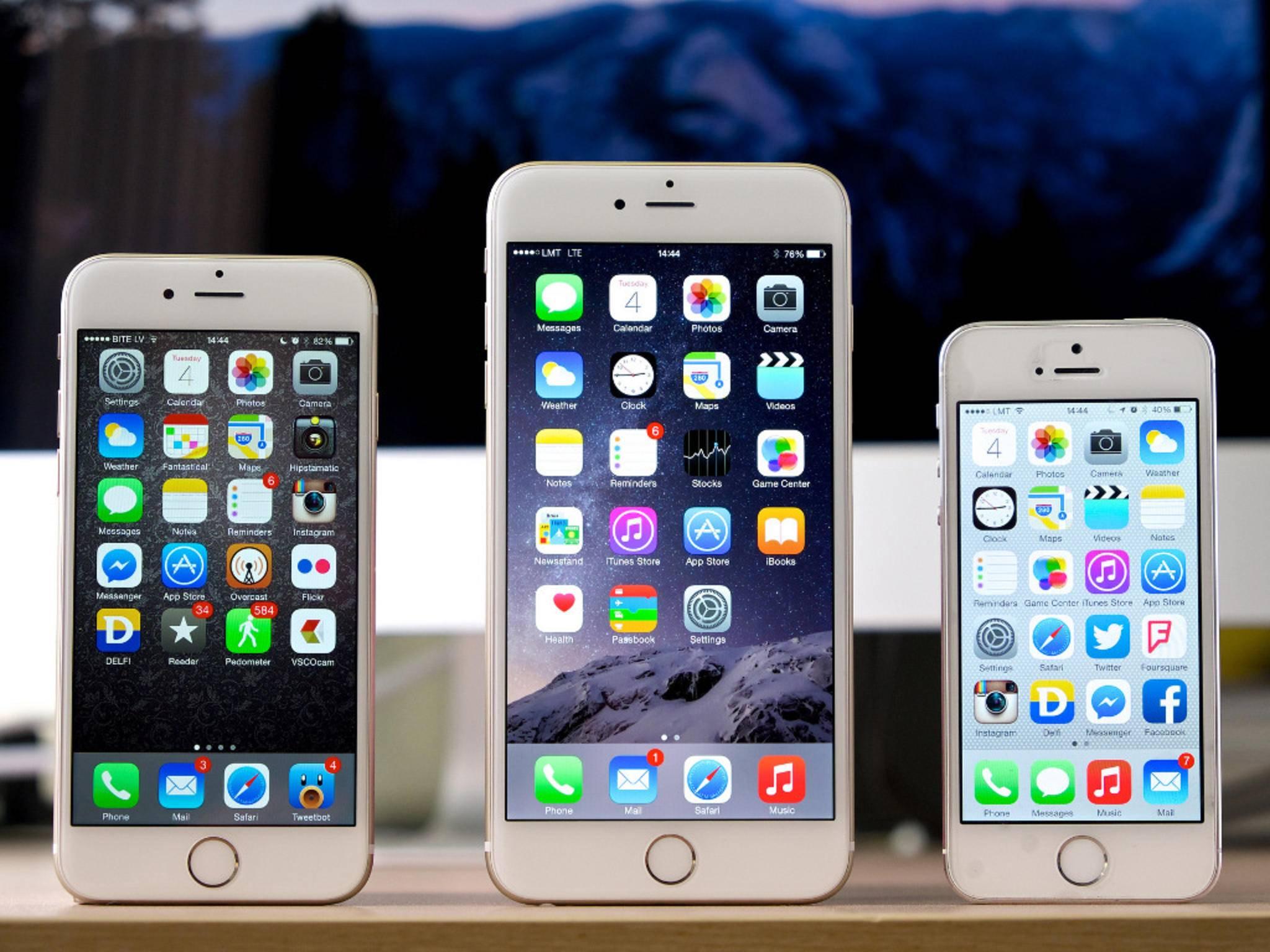 Könnte es vom kommenden iPhone gleich drei Varianten geben?