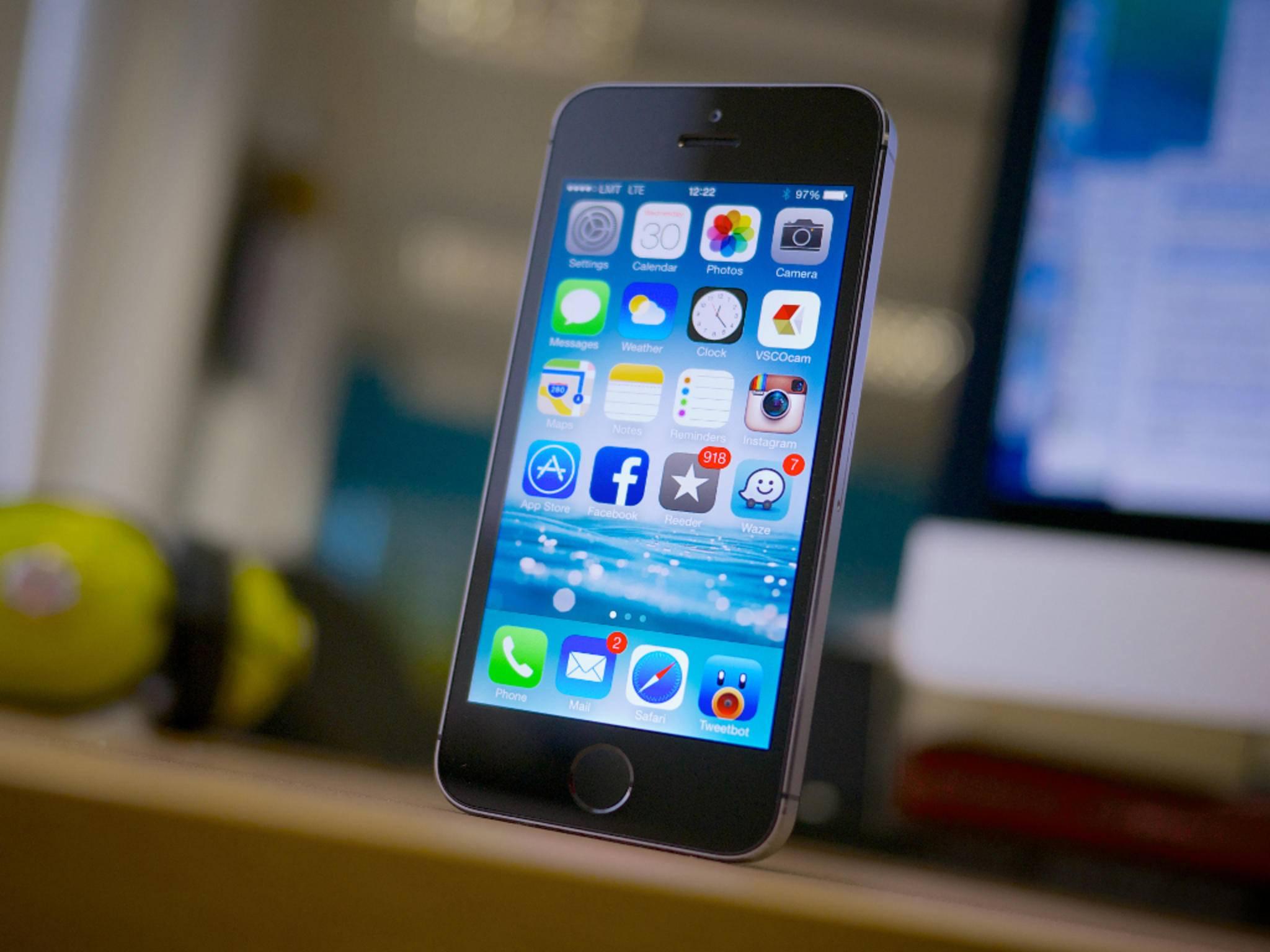Das iPhone 5se soll in den Farben Silber, Space Grau und Pink erscheinen.