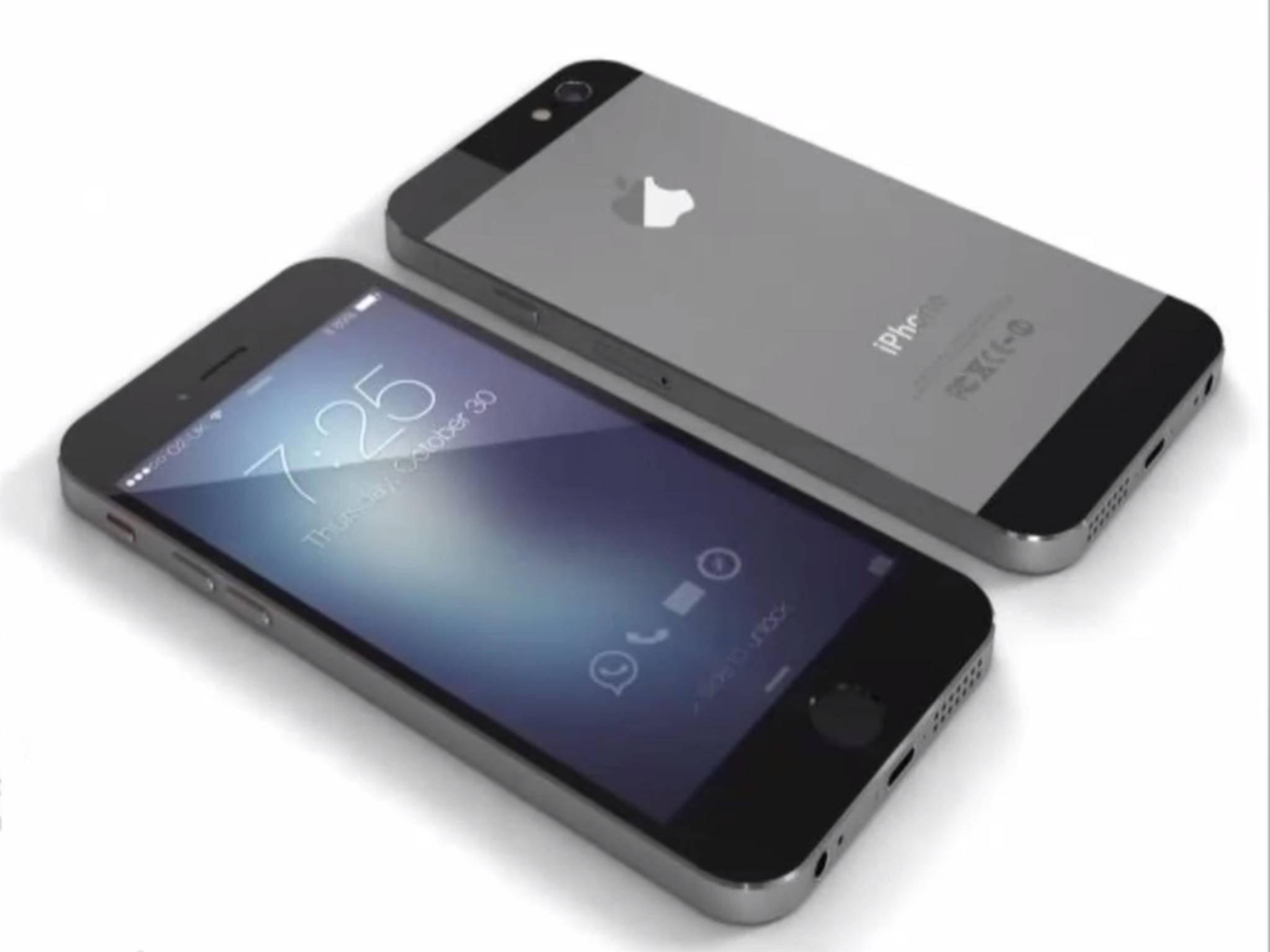 Zum Design des iPhone 6s existieren bislang nur inoffizielle Konzeptstudien.