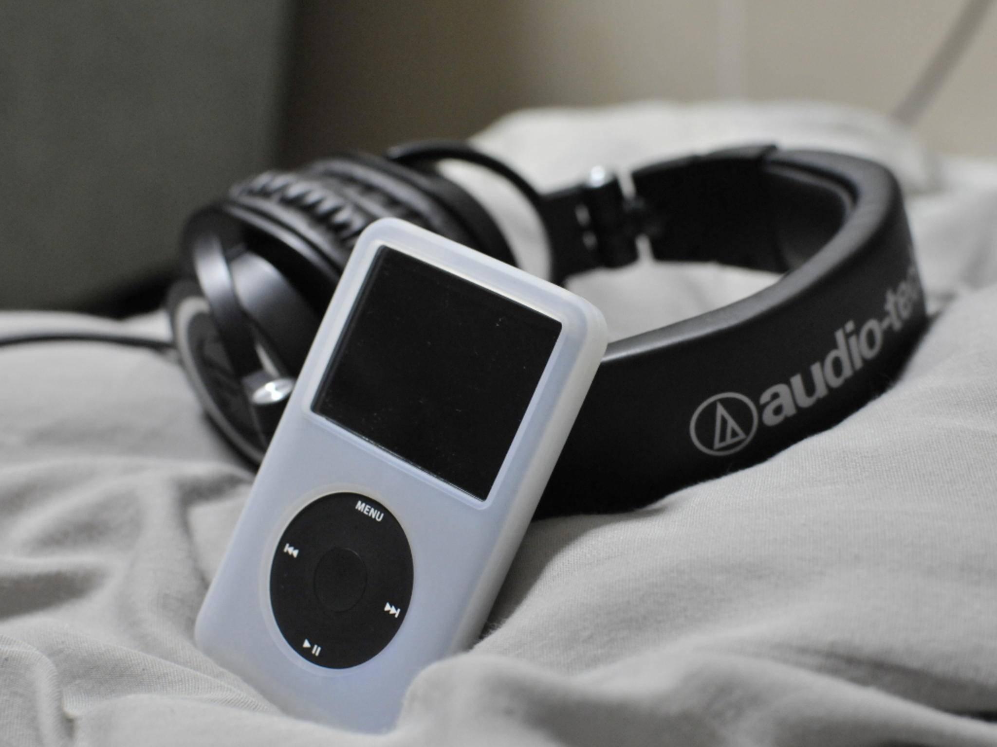 Der iPod ist der beliebteste Musikplayer weltweit.
