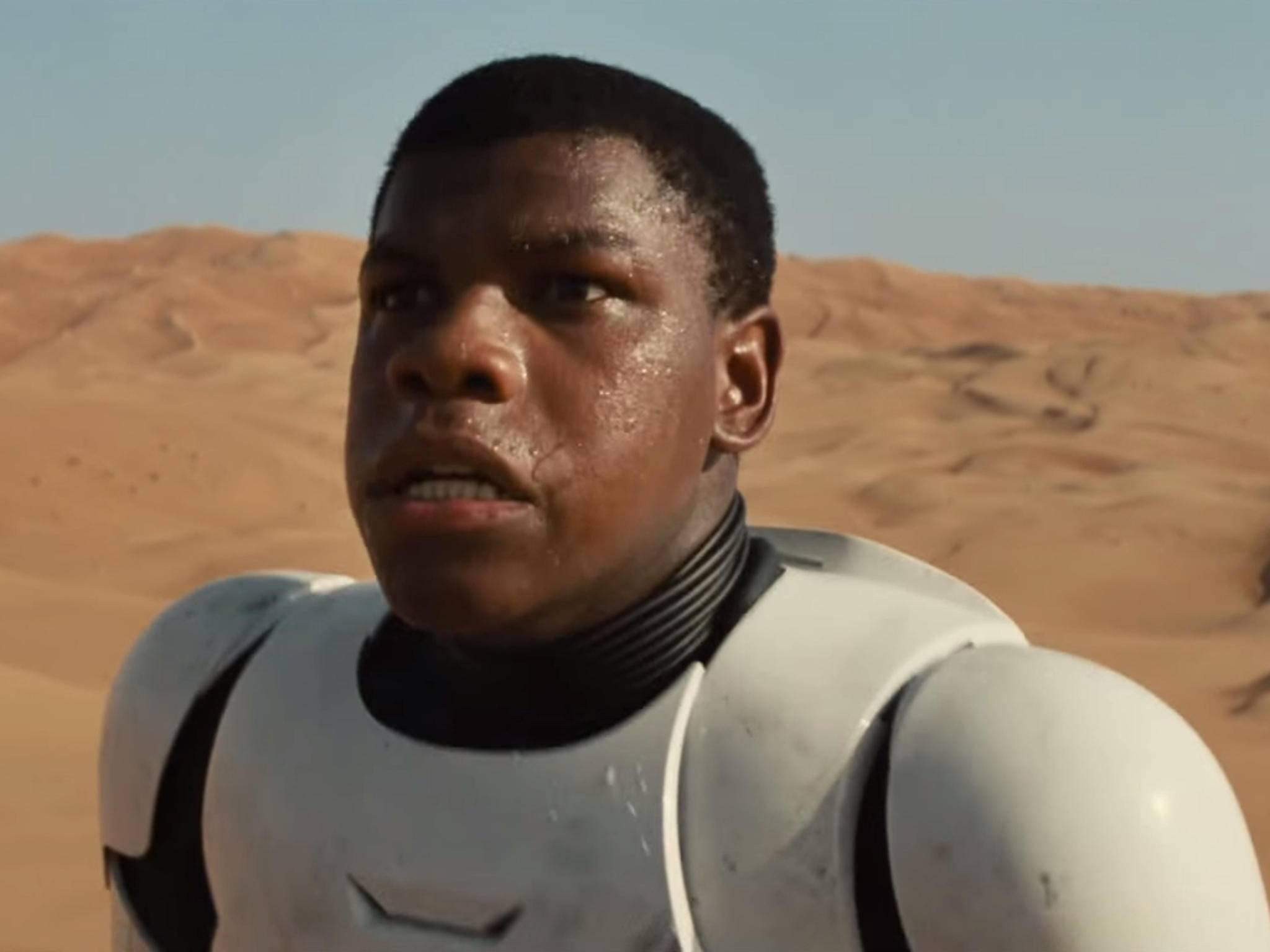 Hauptdarsteller John Boyega mimt den Charakter Finn.