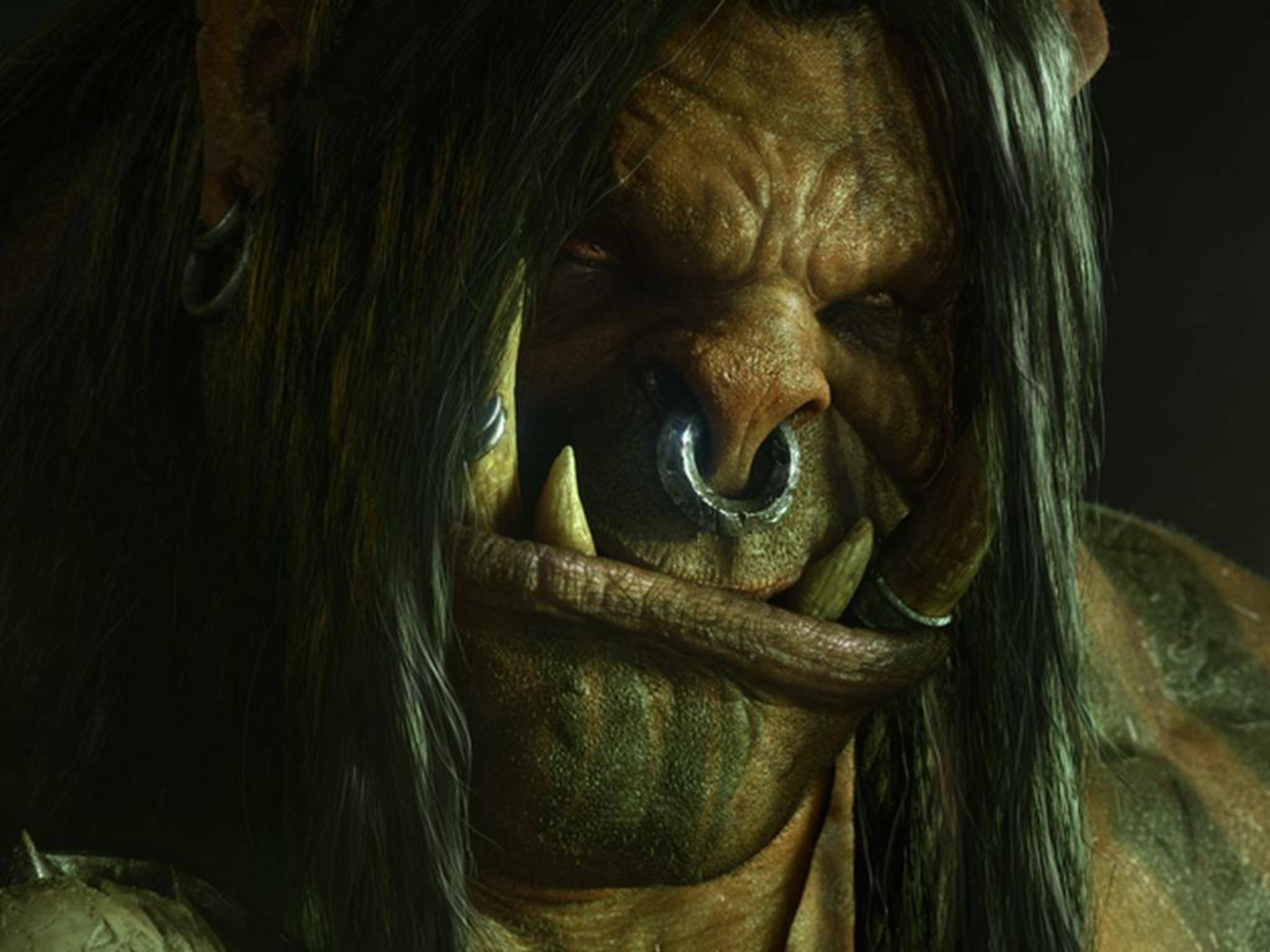 """Kein Grund, grimmig zu gucken: Der """"Warcraft""""-Film scheint in guten Händen zu sein."""