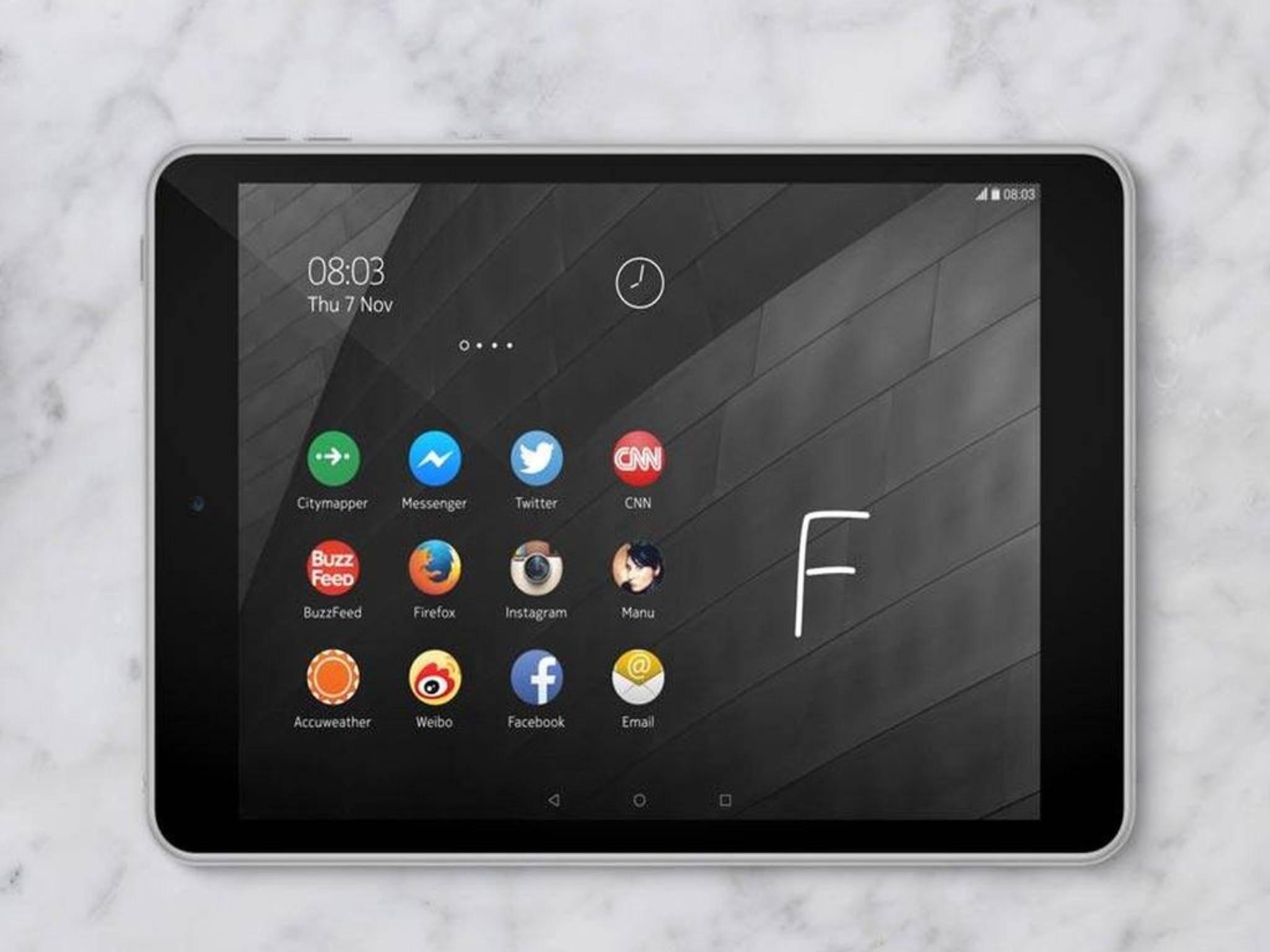 Jede Menge Technik-Power unter dem Gehäuse: Das Nokia N1 ist ein stärkeres Tablet als das Apple iPad mini 3.
