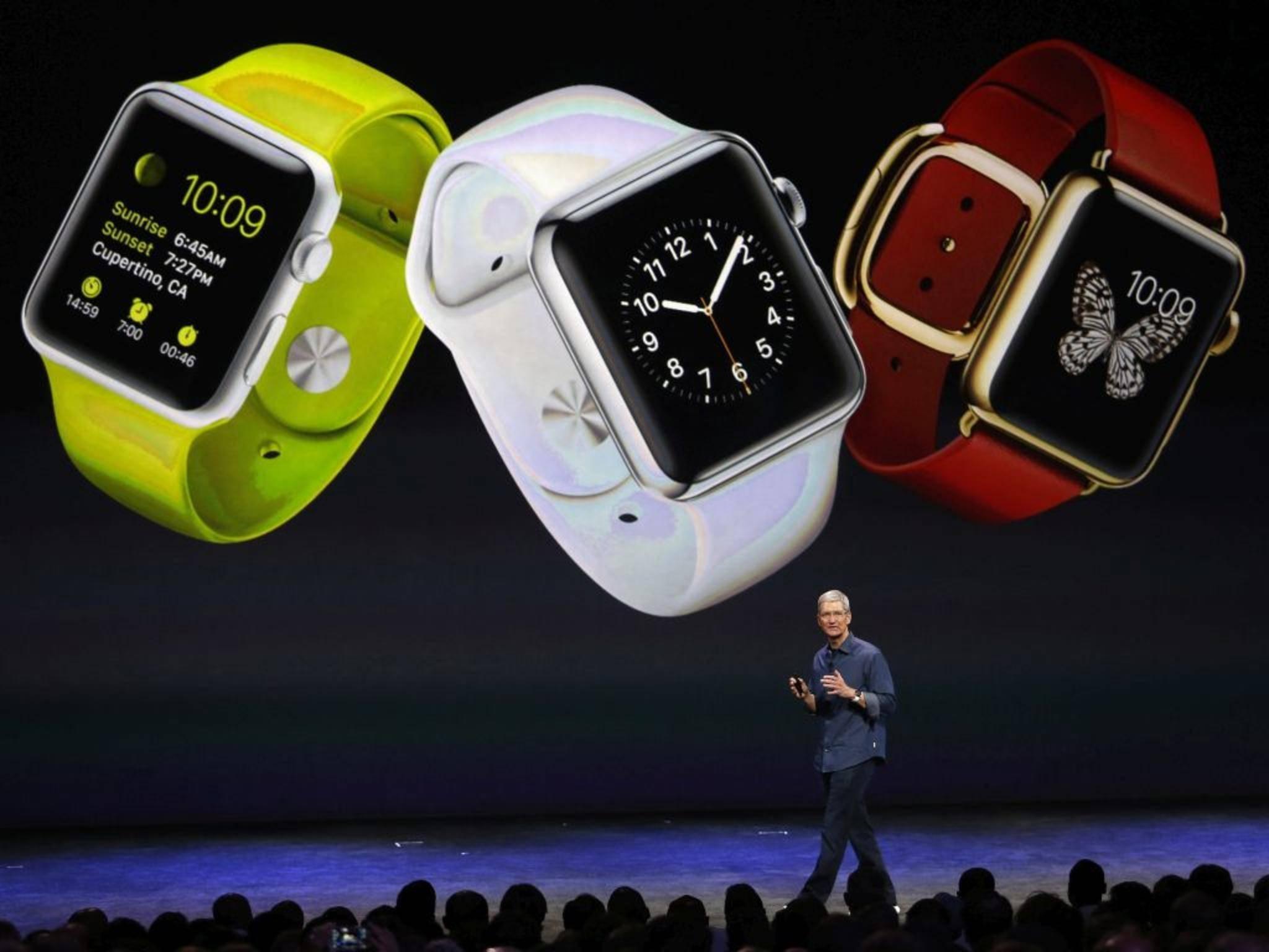 Fans zählen die Tage runter: Im März wird die Apple Watch voraussichtlich erscheinen.
