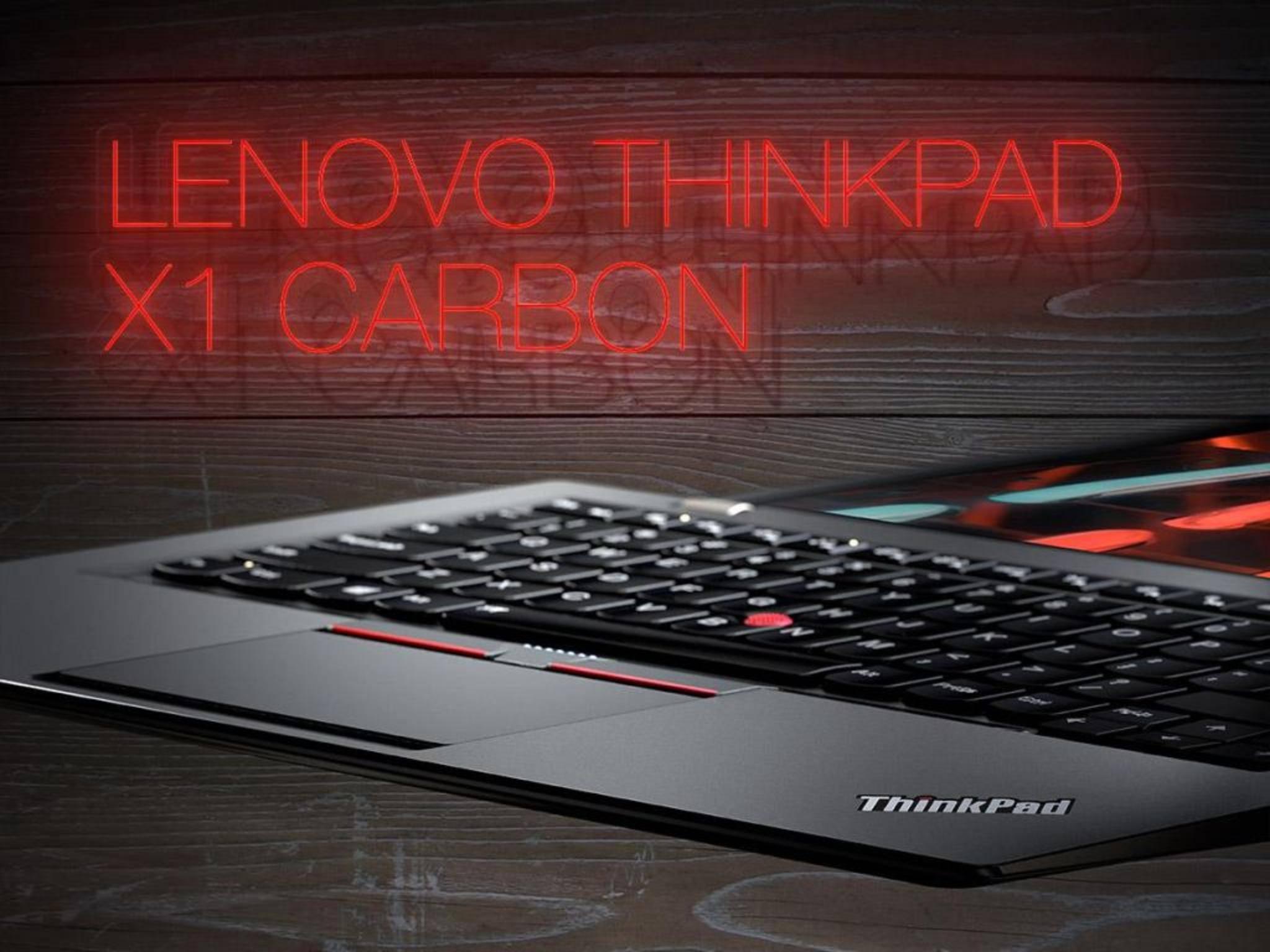 Leicht, stark, schick: Lenovo bringt ein Update des ThinkPad X1 Carbon auf den Markt.