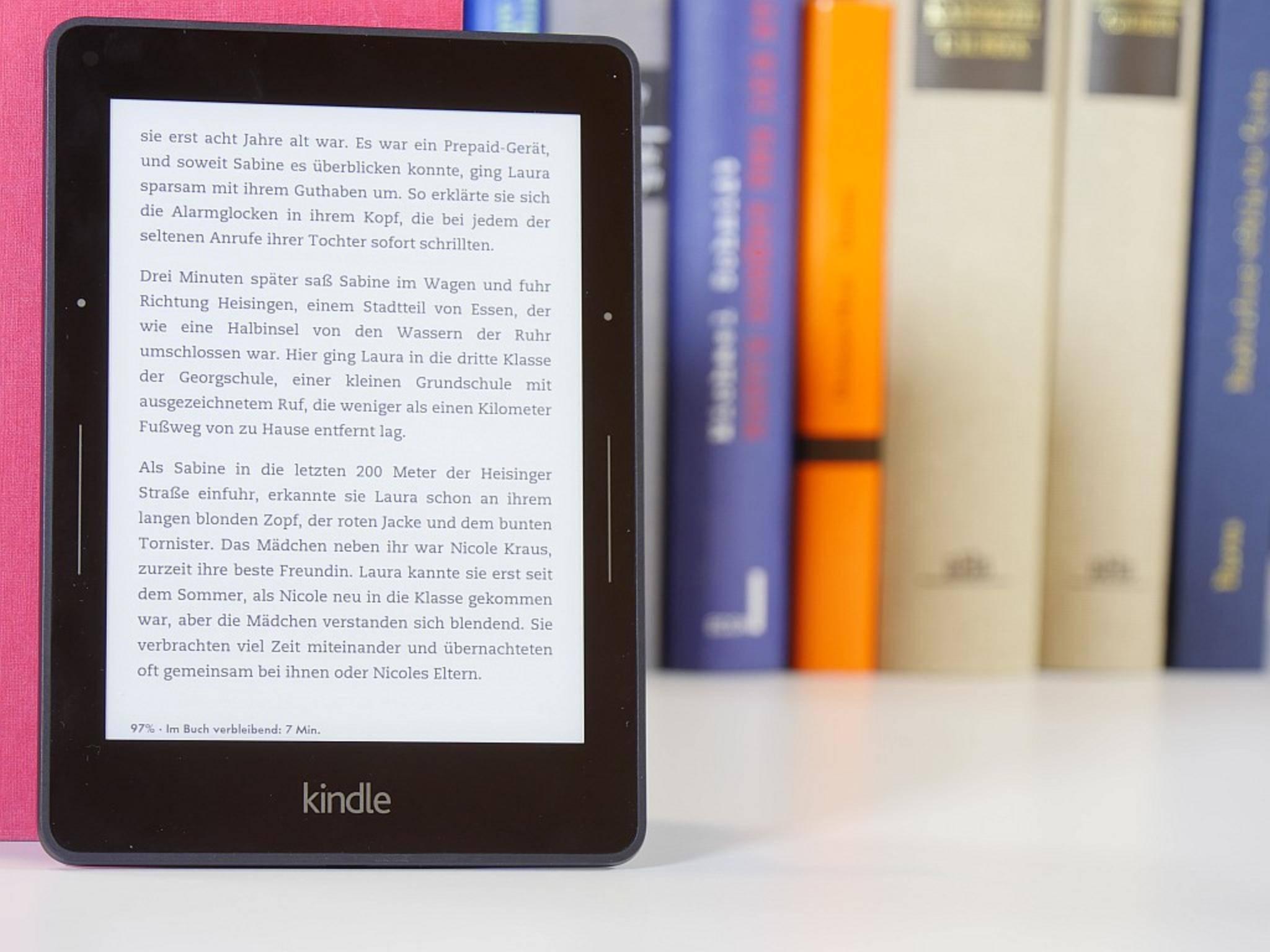 Der Kindle Voyage ist Amazons bester, aber auch teuerster Reader.