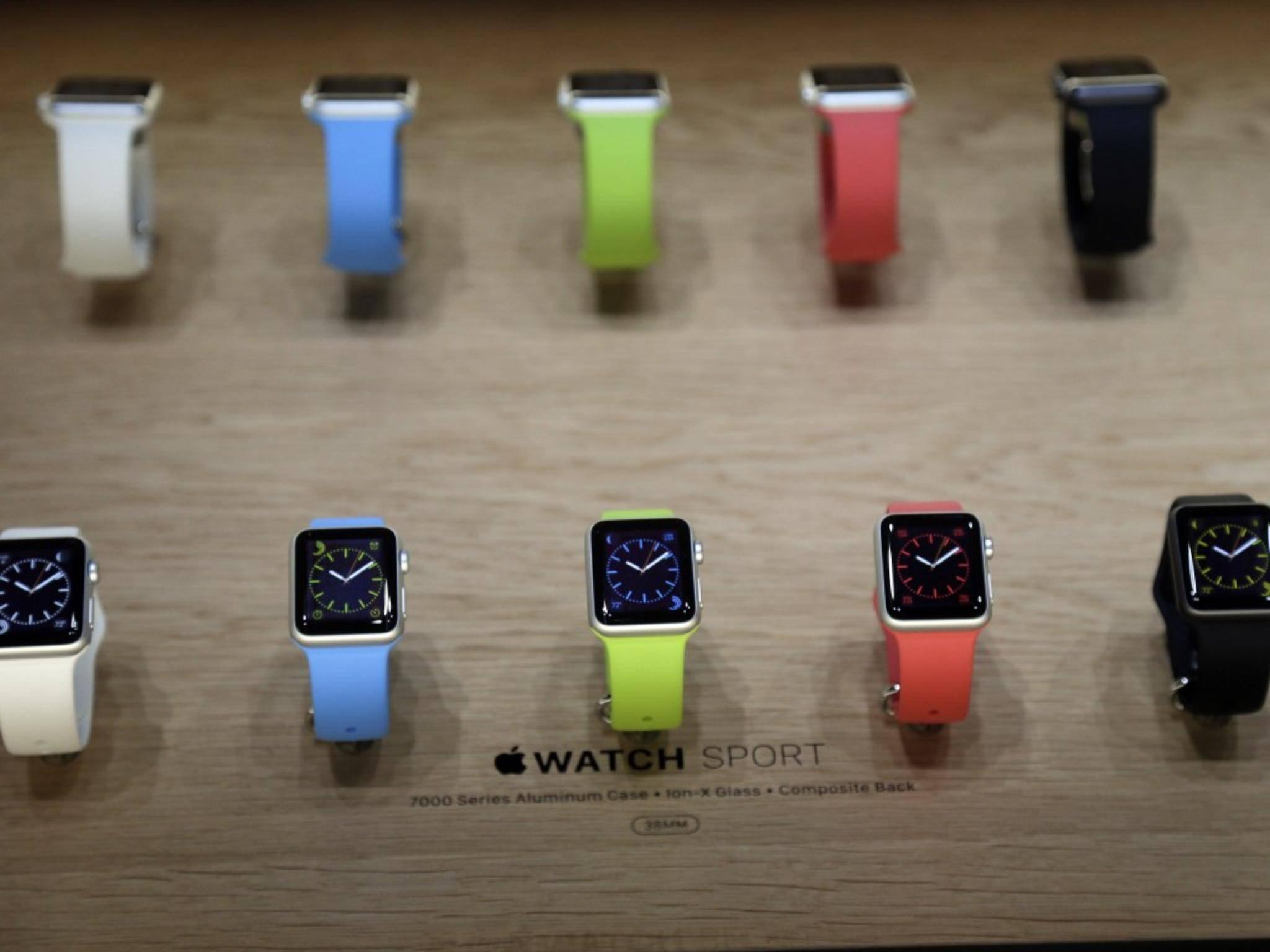 Die Apple Watch soll nicht nur Technik-, sondern auch Fashion-Fans begeistern.