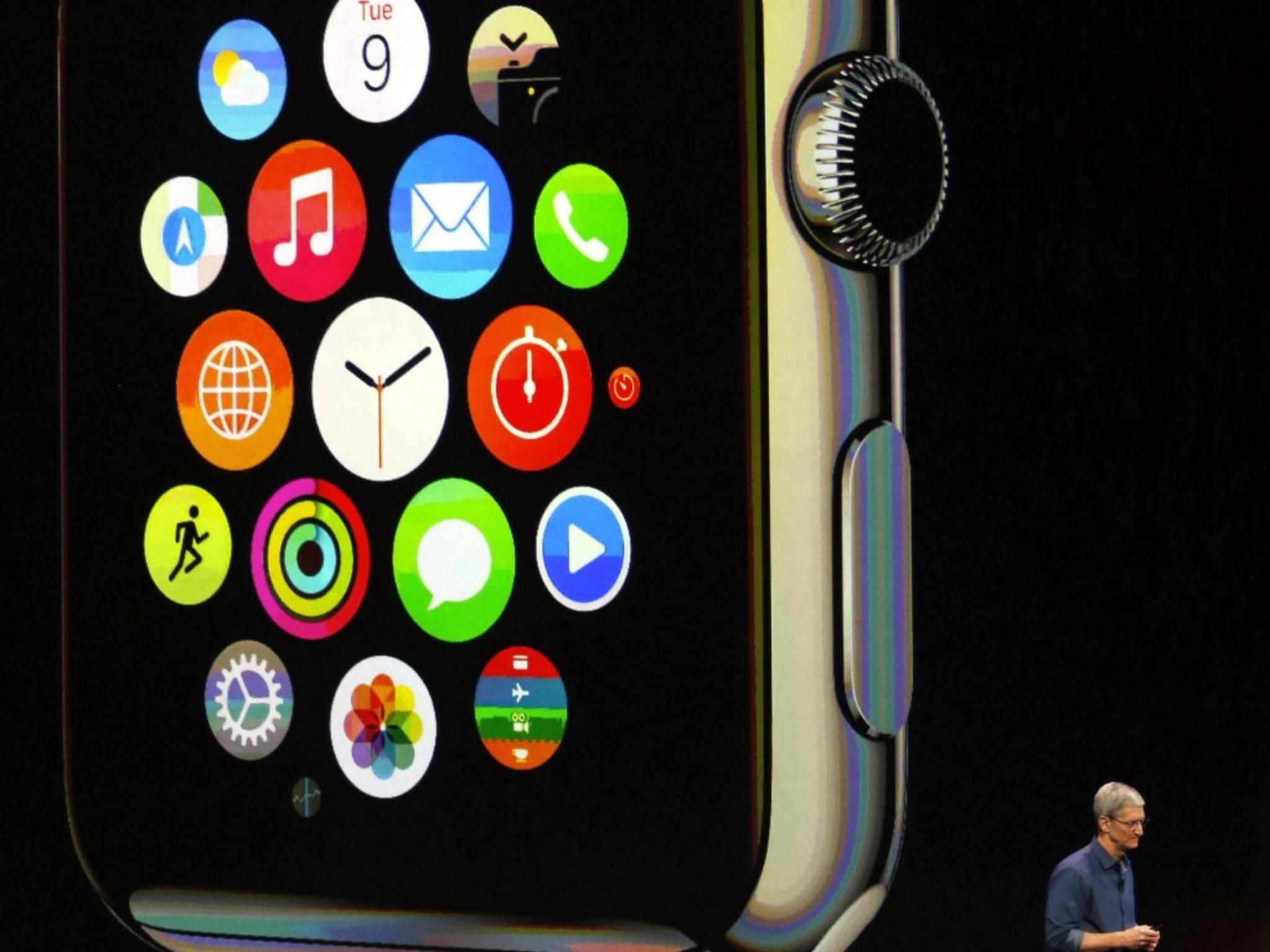 Können die Deutschen womöglich schon vor den Amis eine Apple Watch in den Händen halten?