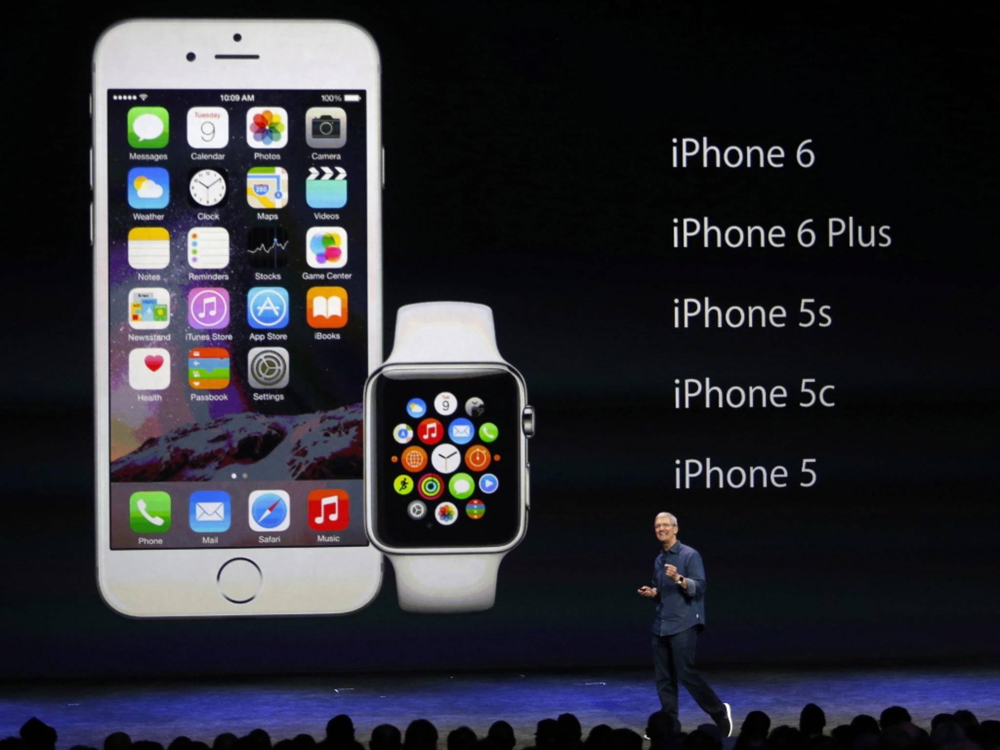 Die Apple Watch braucht für den vollen Funktionsumfang ein iPhone.