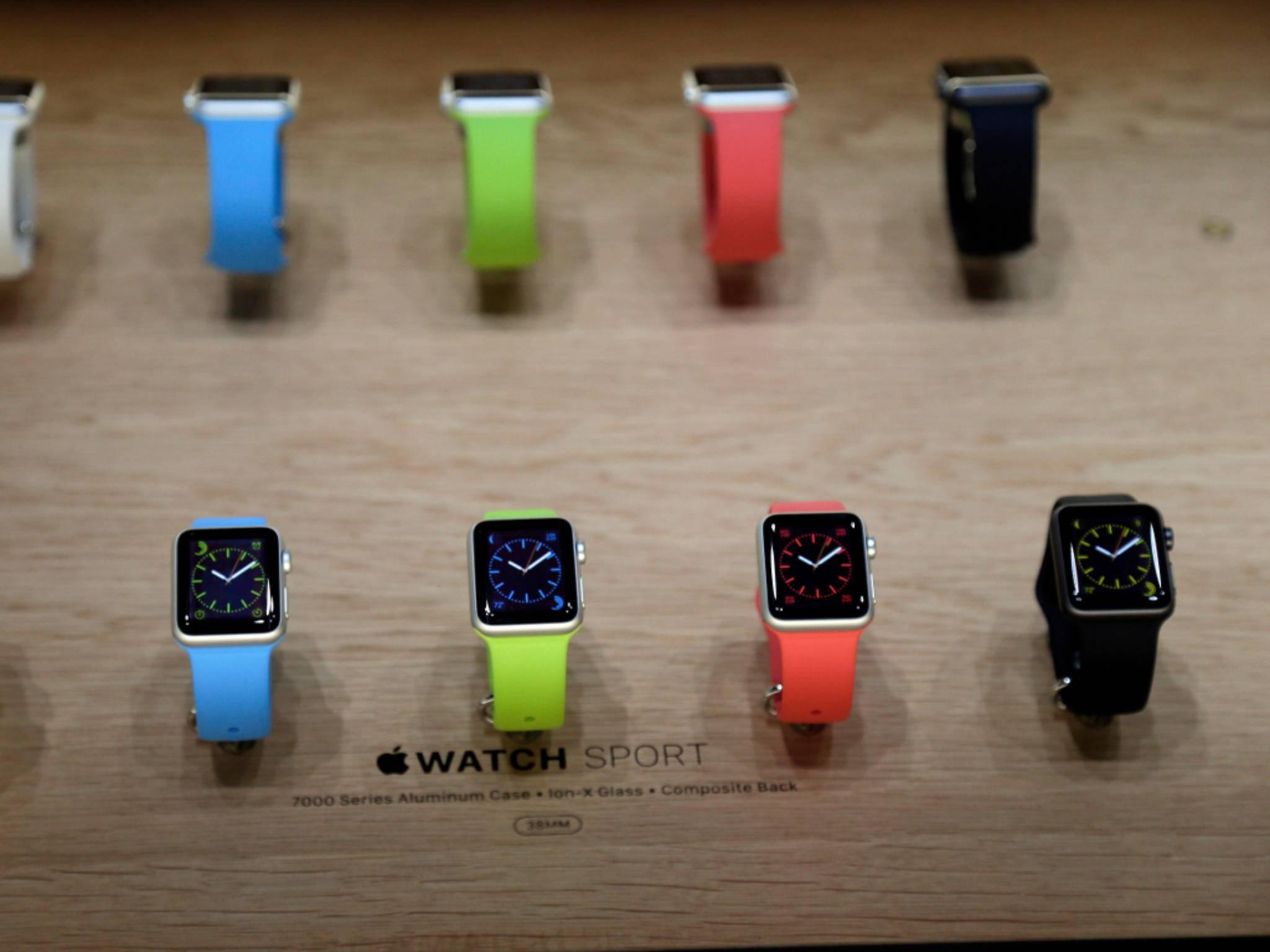 Die echte Apple Watch wurde im September 2014 enthüllt.