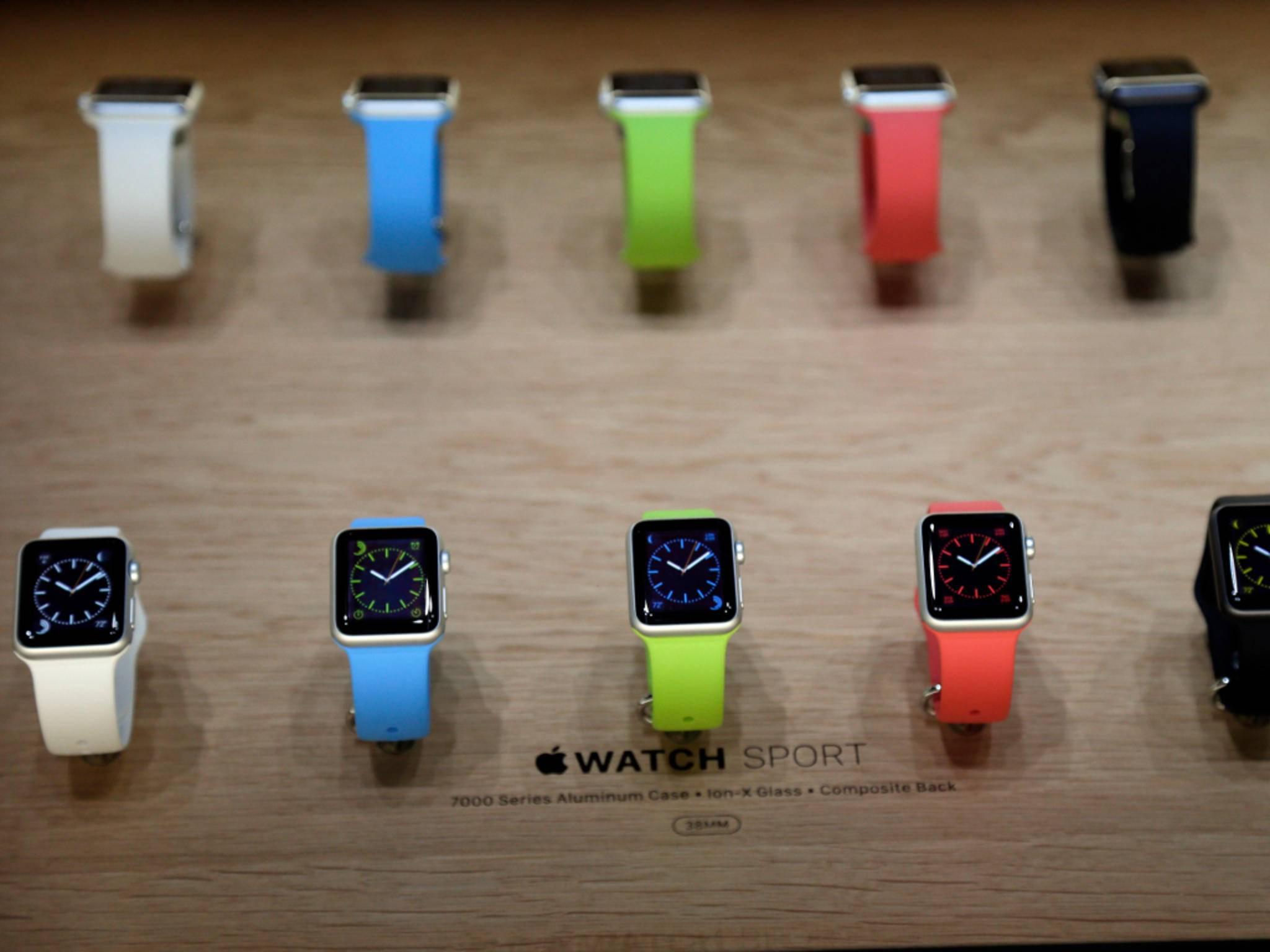 Die Apple Watch soll auch Modefans ansprechen.