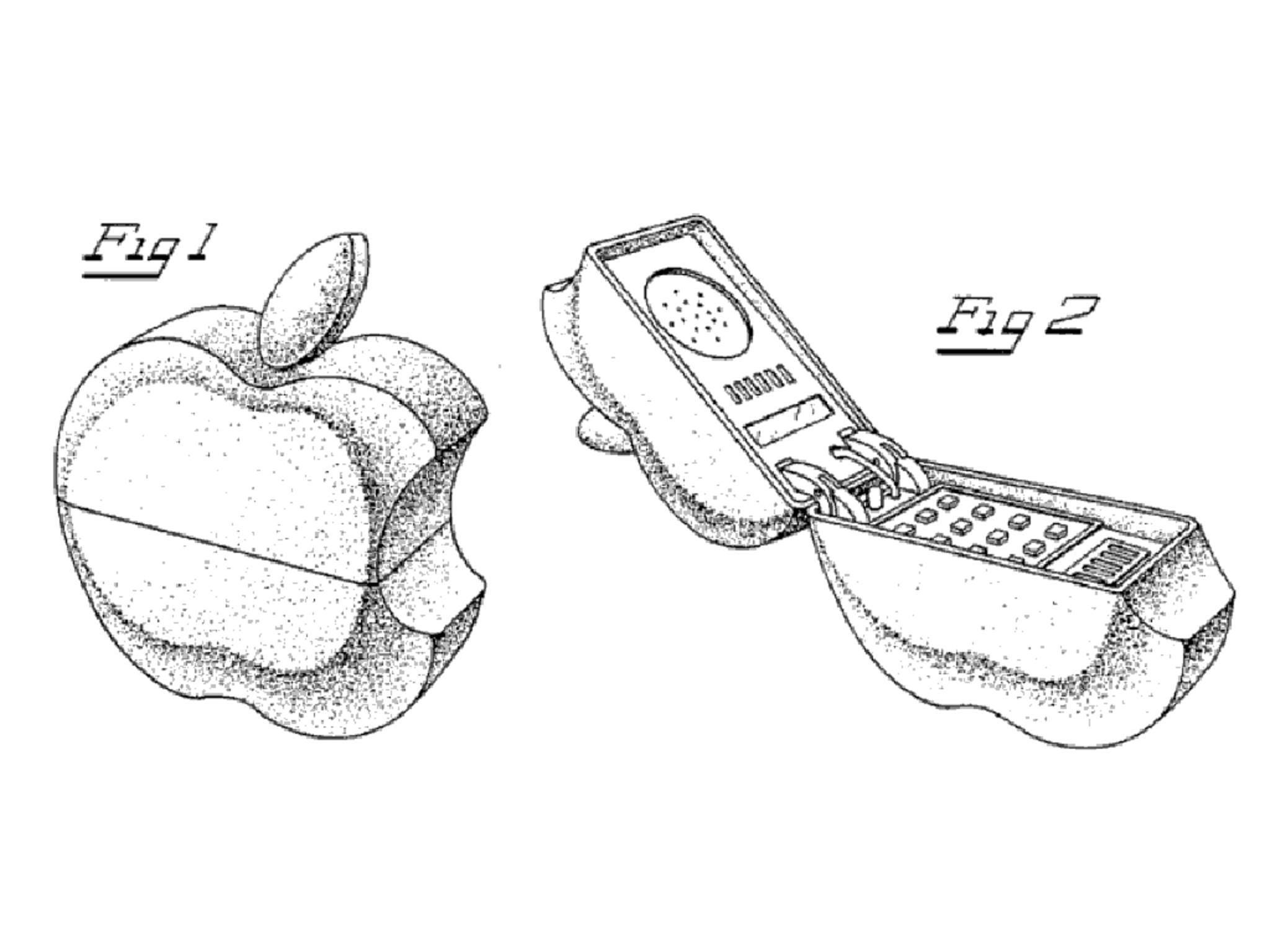 """Apple hat zahlreiche verrückte Patente im Angebot - dieses """"Apple Phone"""" wird es aber wohl nie geben."""