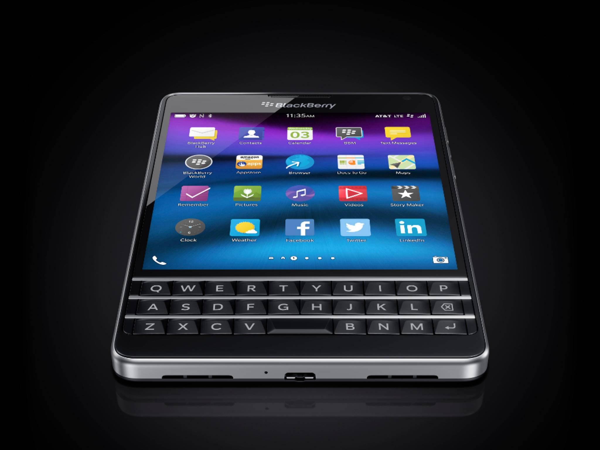 Beim zuletzt erschienenen BlackBerry Passport setzte der Hersteller noch auf BlackBerry OS.