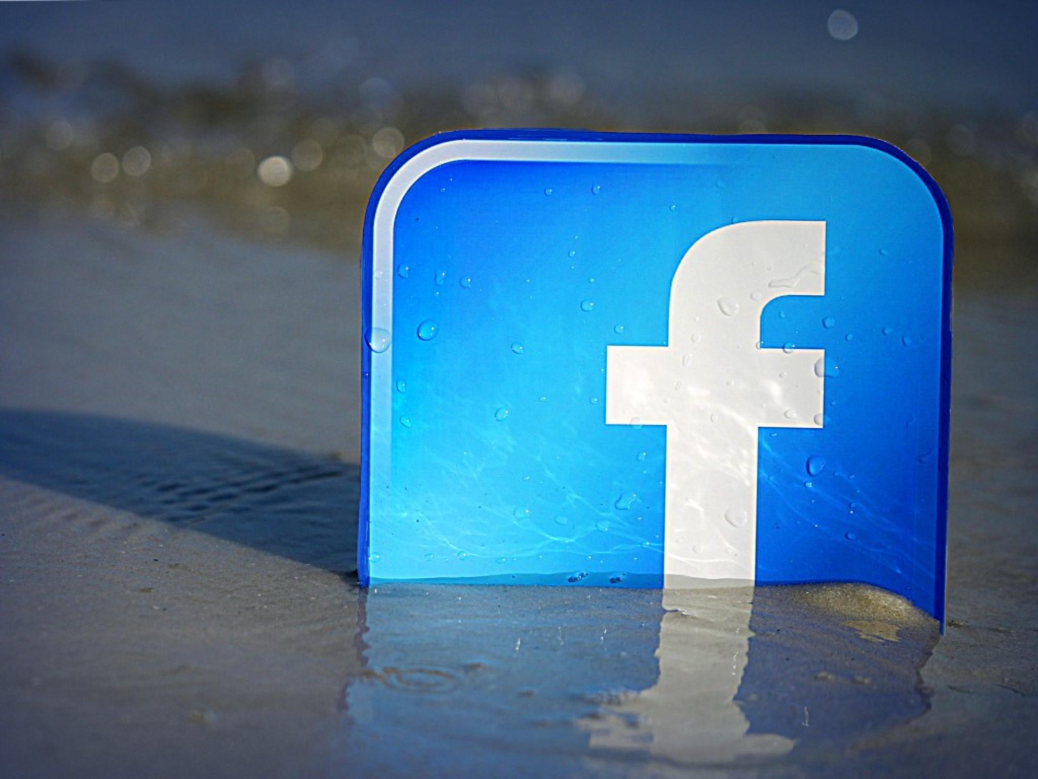 Land unter? Facebook ist auf einen Streit mit Google vorbereitet.