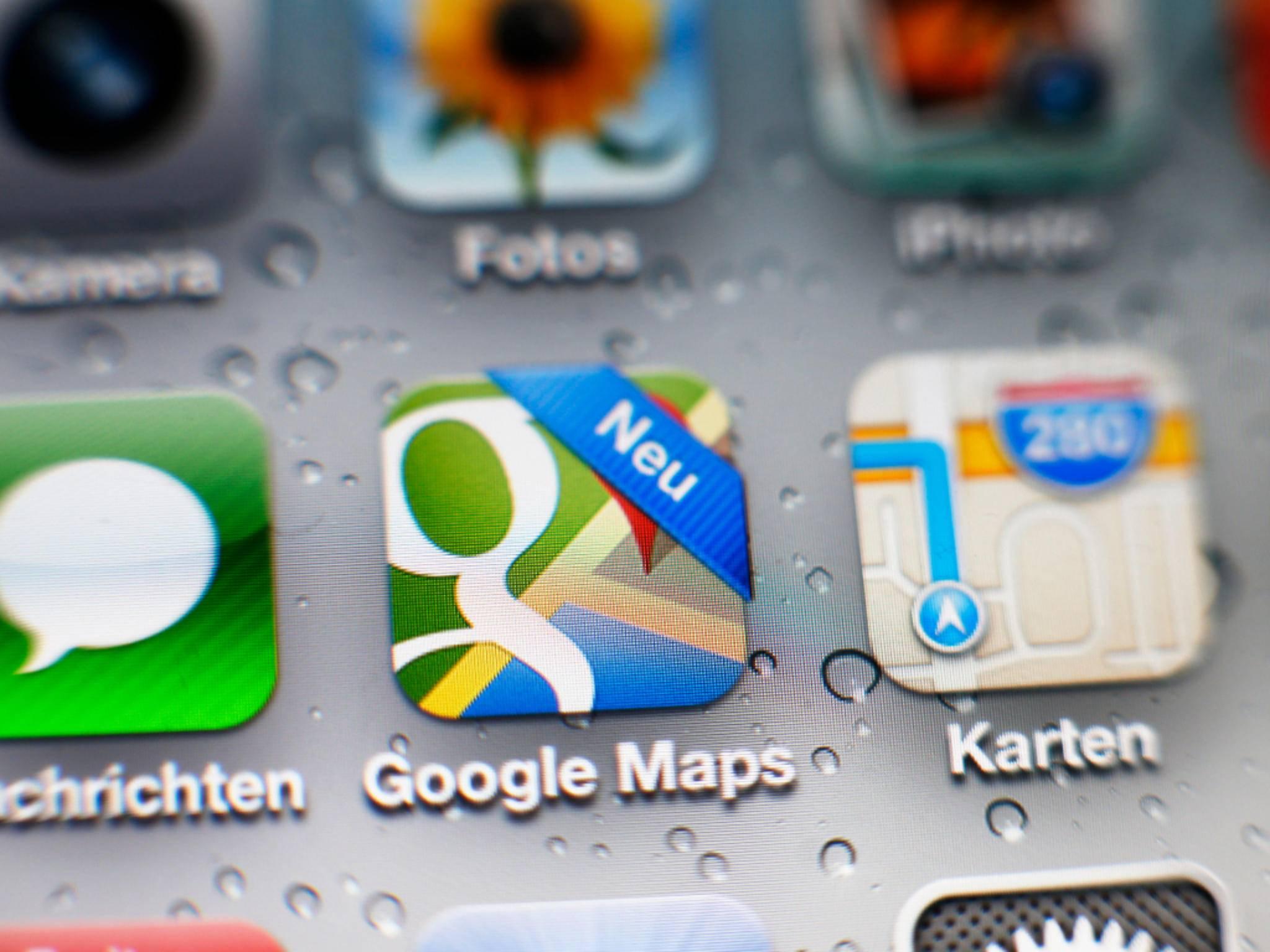Google Maps glänzt nach einem Update für iOS und Android mit vielen neuen Funktionen.