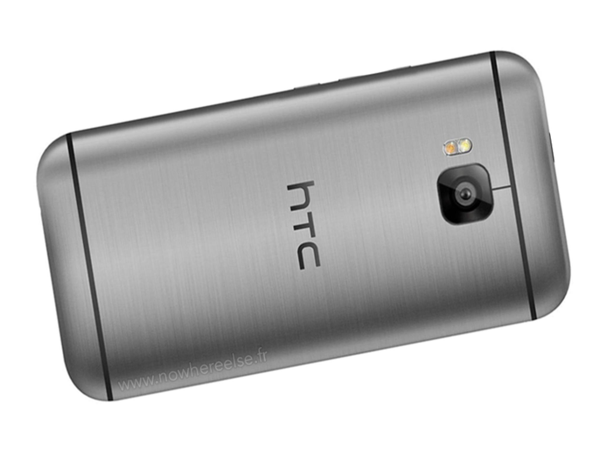 So soll das HTC One M9 laut einem gerenderten Pressefoto aussehen.