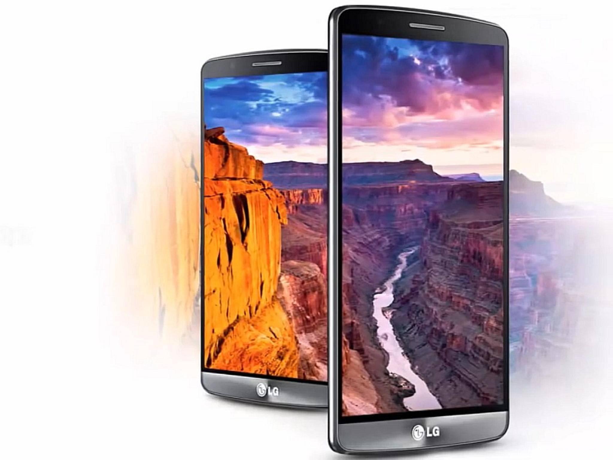 Entstanden mit Photoshop: So stellen sich manche Nutzer das LG G4 vor.