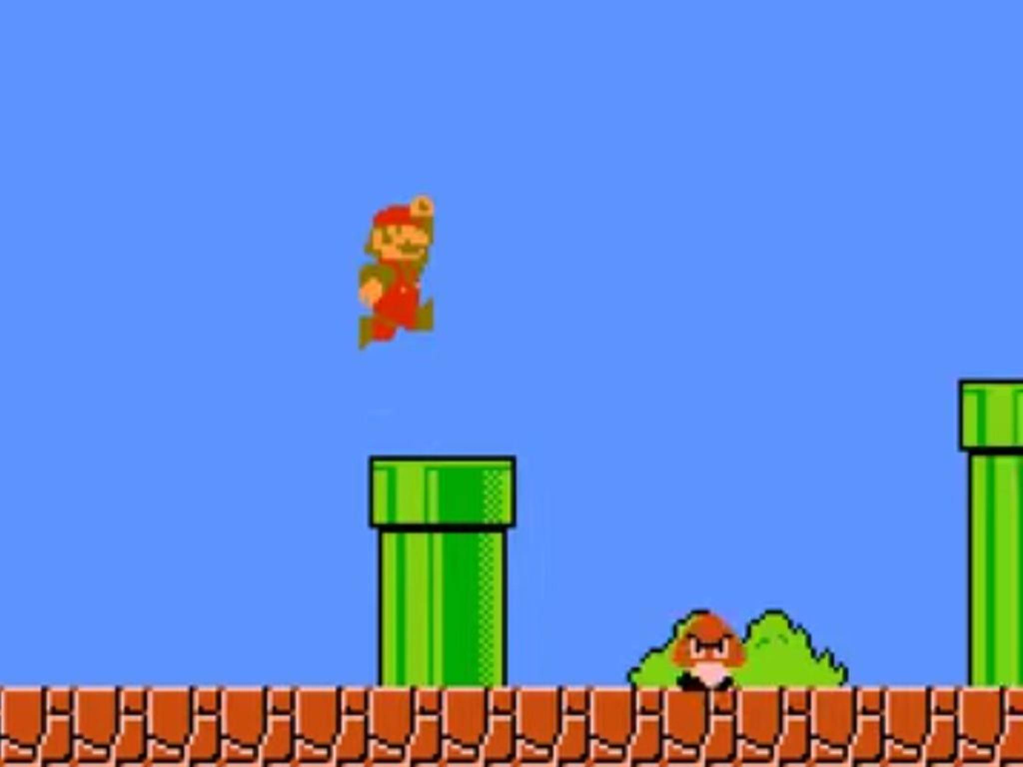 Im Januar war er wieder zurück: der Klempner und Konsolen-Held Mario.