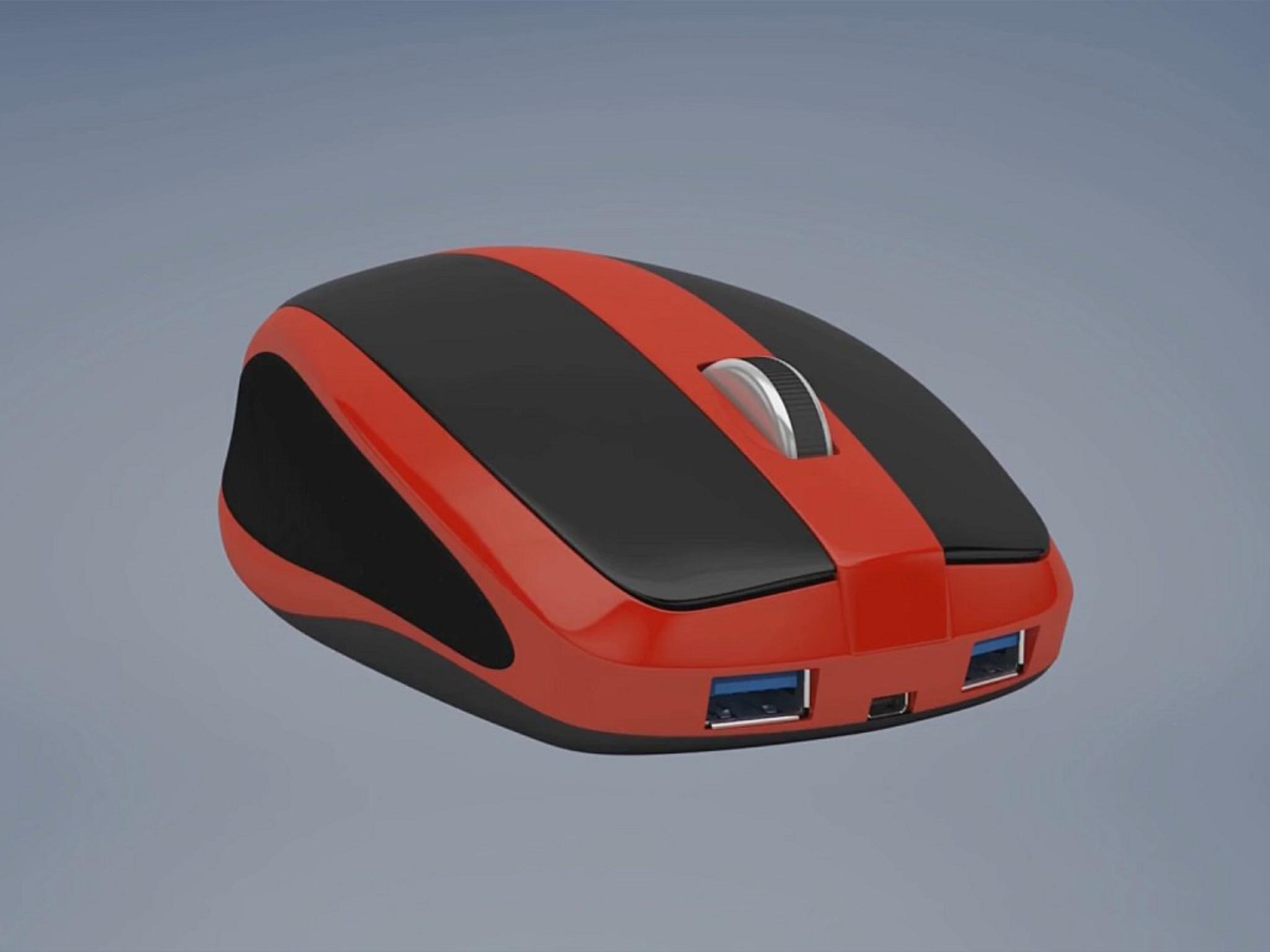 PC-Maus und Rechner in einem: Das ist die Mouse-Box.