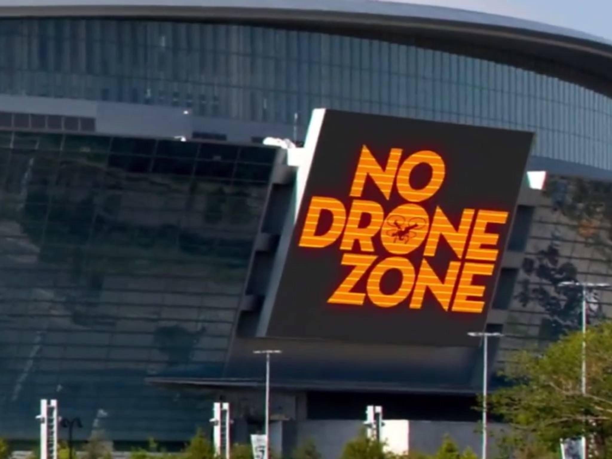 Drohnen müssen beim Super Bowl draußen bleiben: Da versteht die amerikanische FAA keinen Spaß.