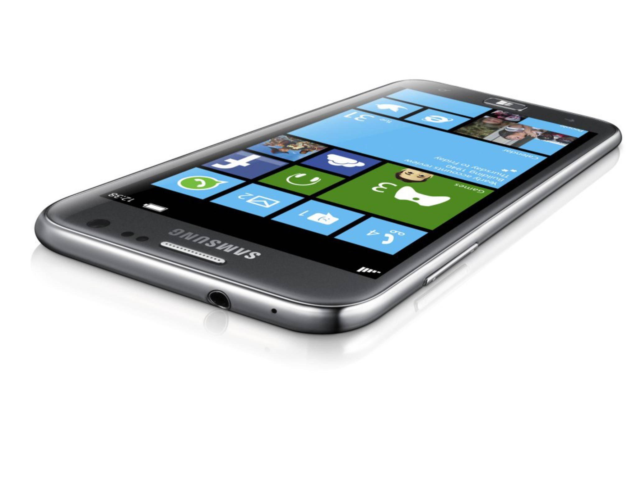 Das Ativ S war Samsungs erstes Smartphone mit Windows Phone 8.