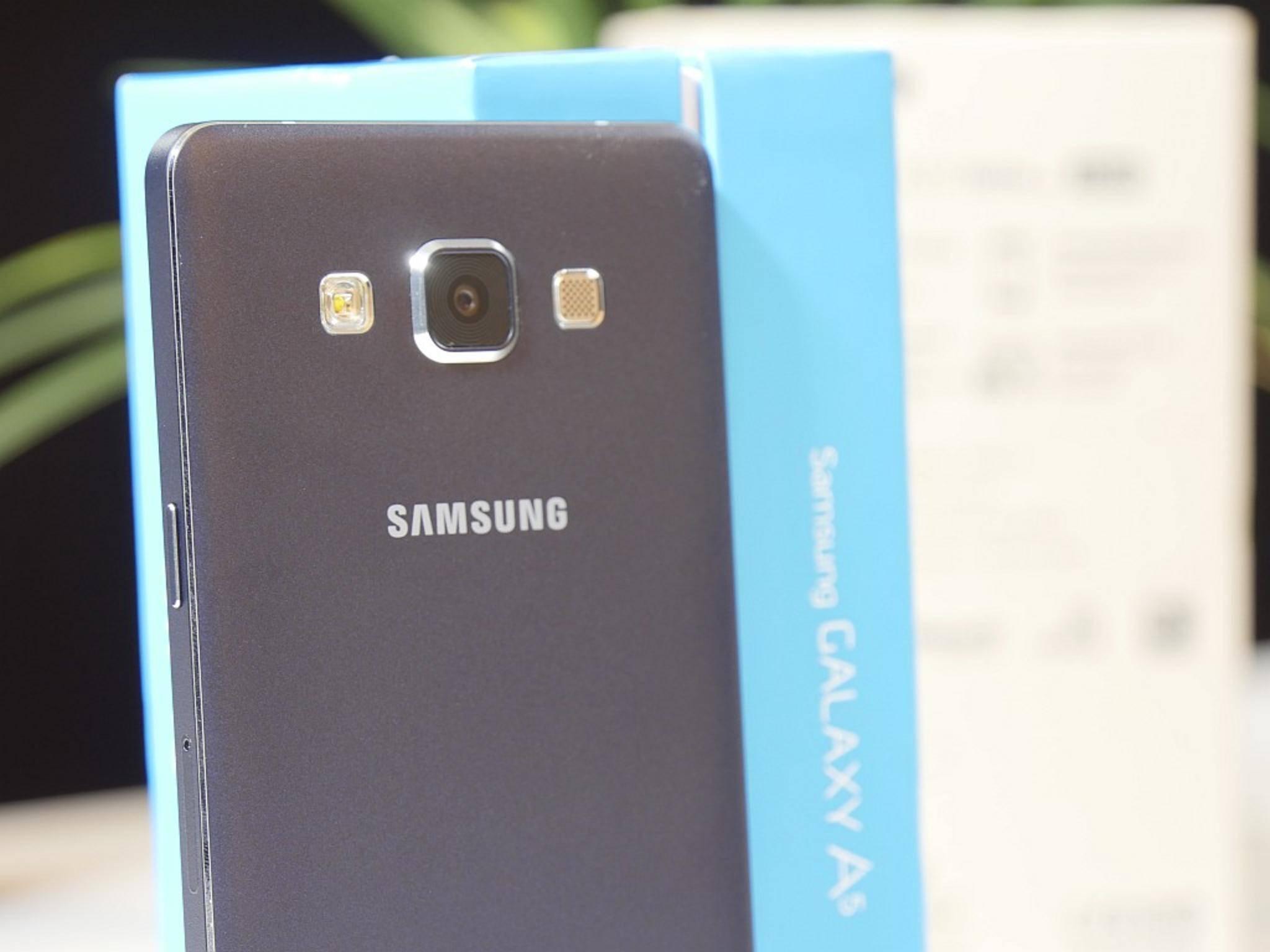 Auch für die Rückkamera bietet Samsung einen Selfie-Modus an.