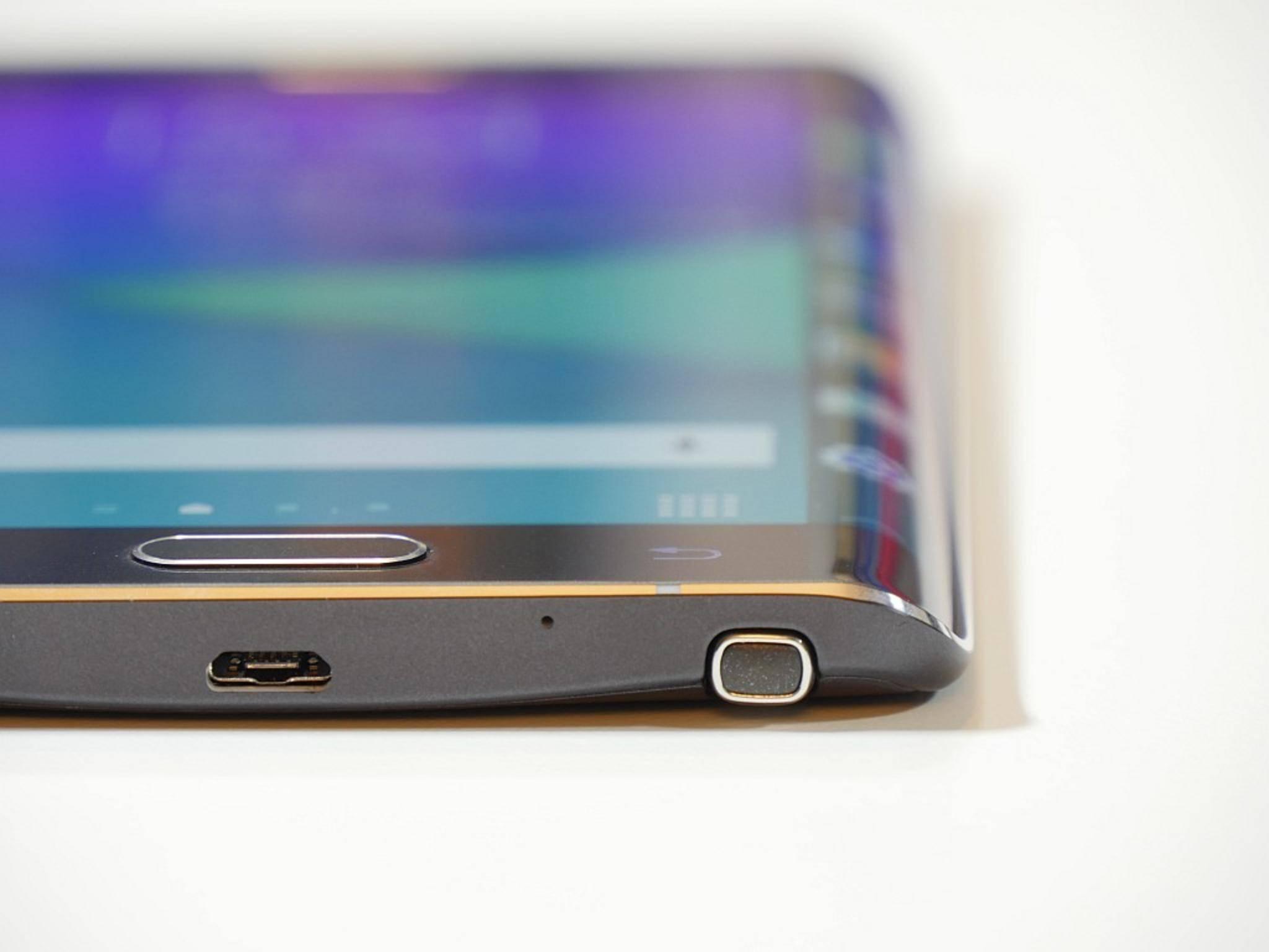 Im Gegensatz zum Galaxy Note Edge könnte das S Edge sogar zwei Curved-Displays bekommen.
