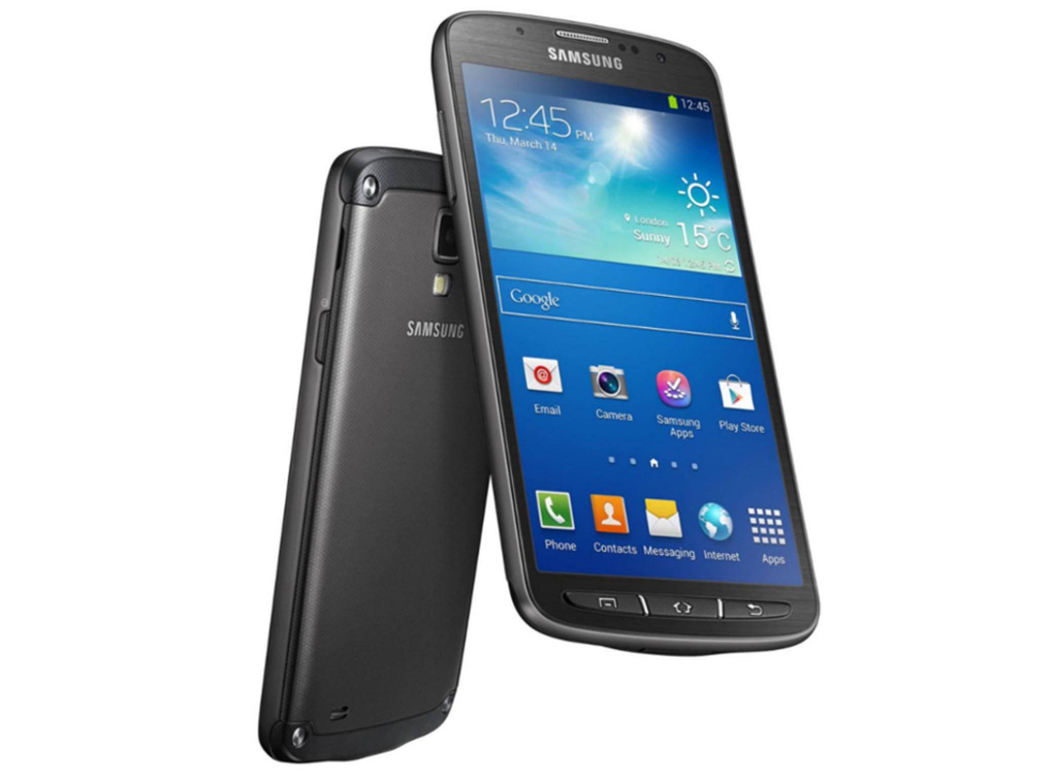 Das Samsung Galaxy S4 Active hat einen Unterwasser-Kameramodus.