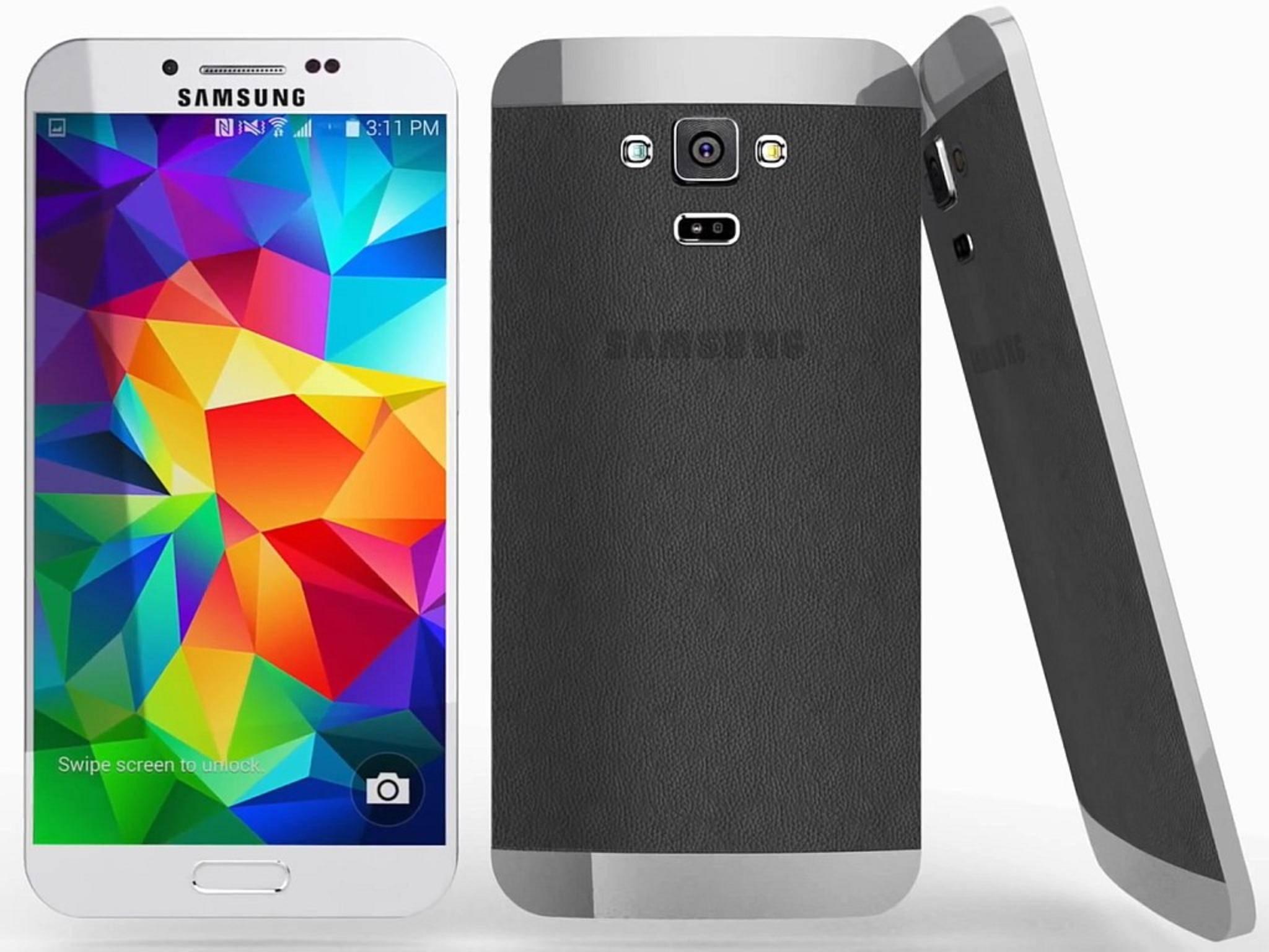 Die Rückseite des Galaxy S6 soll angeblich austauschbar sein.
