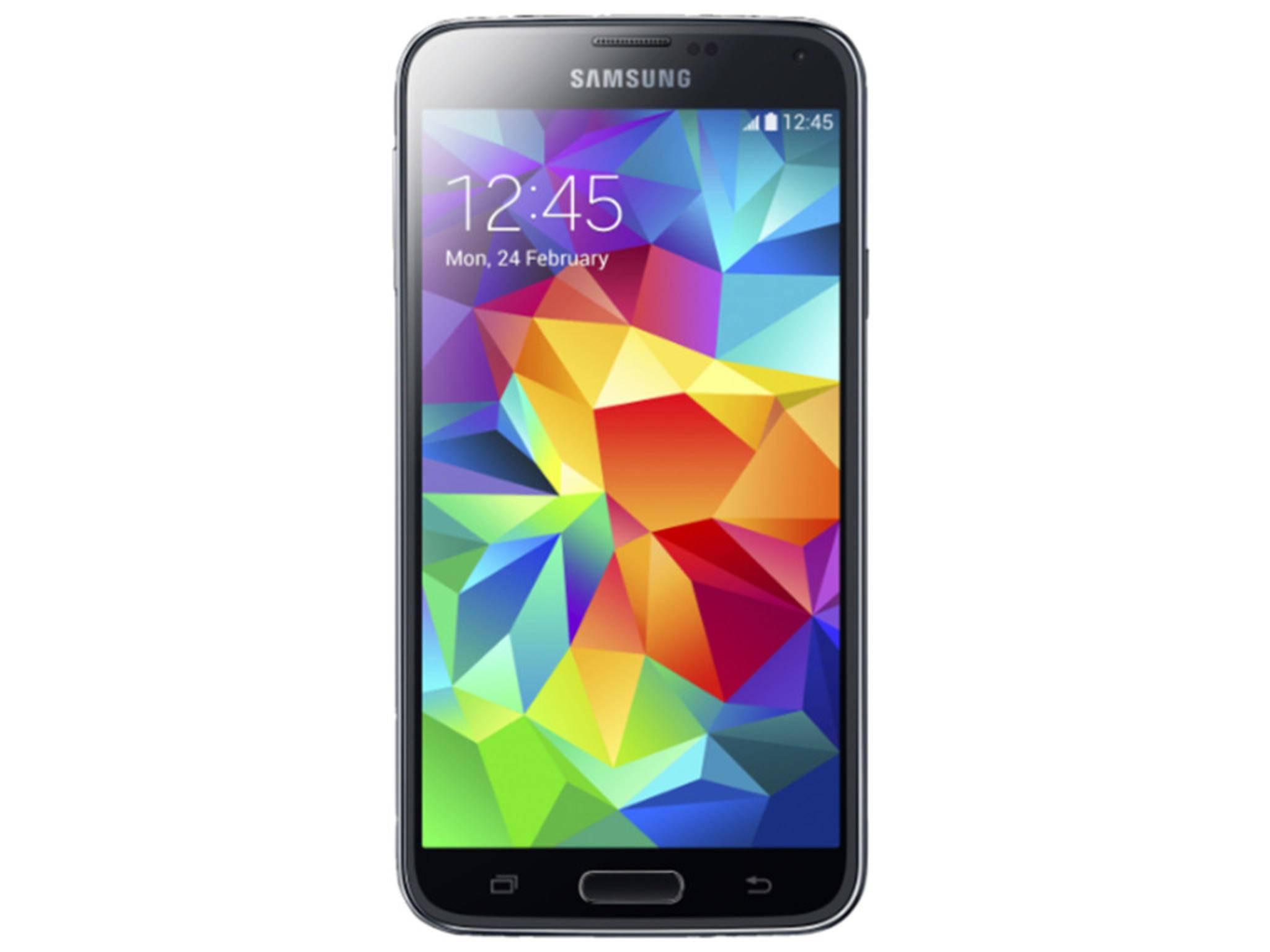 Der integrierte Pulsmesser des wasserdichten Samsung Galaxy S5 ist für Sportfreaks interessant.