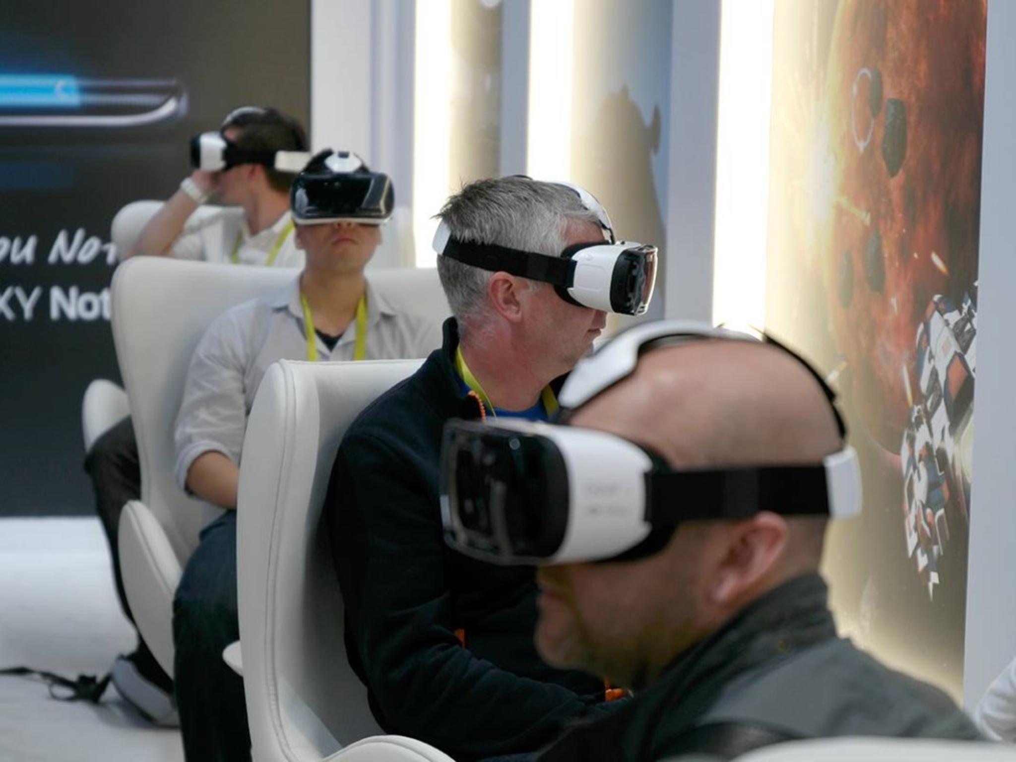 Bisher benötigen Gear VR-Interessierte ein Galaxy Note 4 zum Testen der Brille.