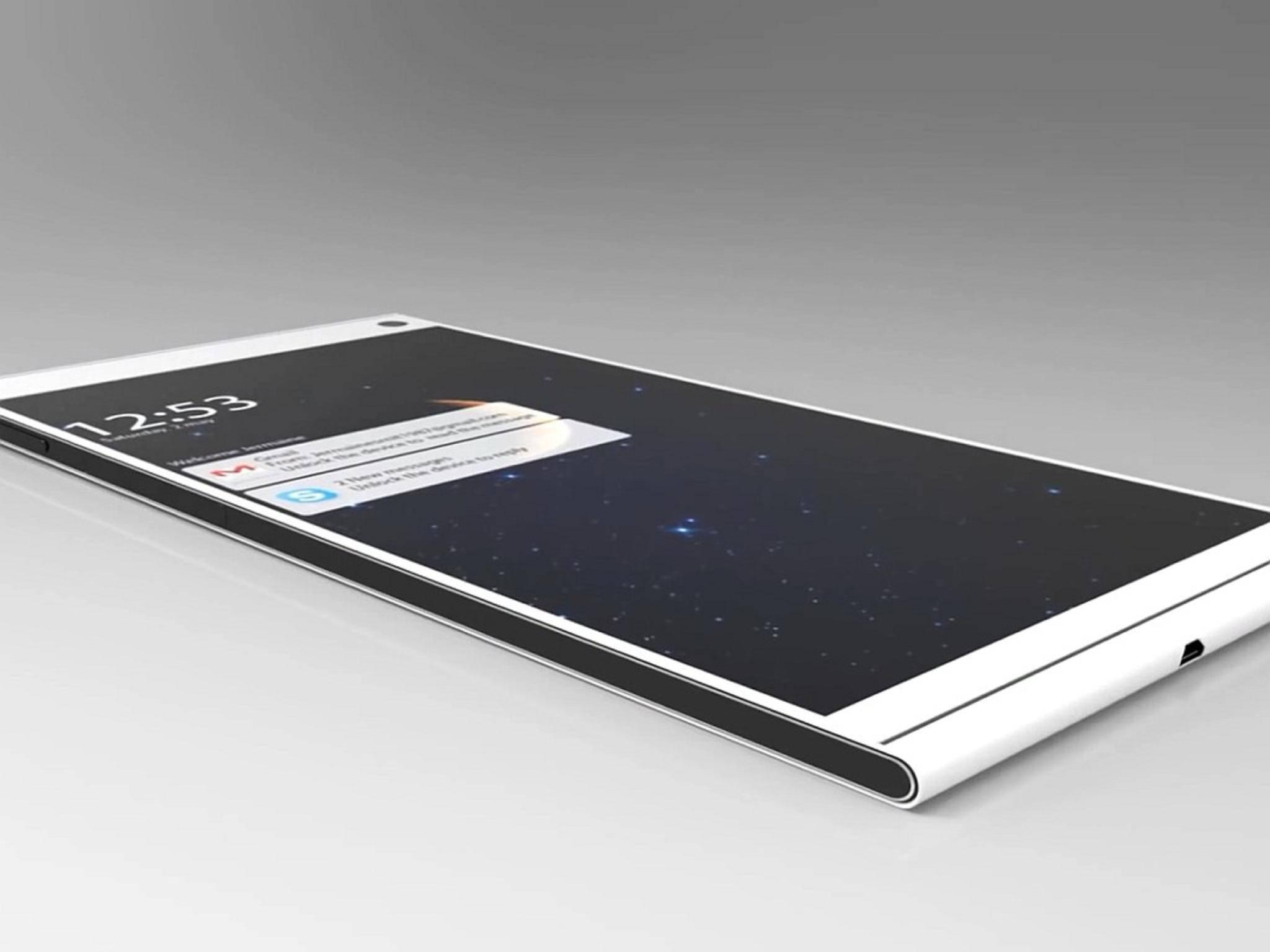 Eine Konzeptstudie des Xperia Z4: Die Realität ist ziemlich nah dran.