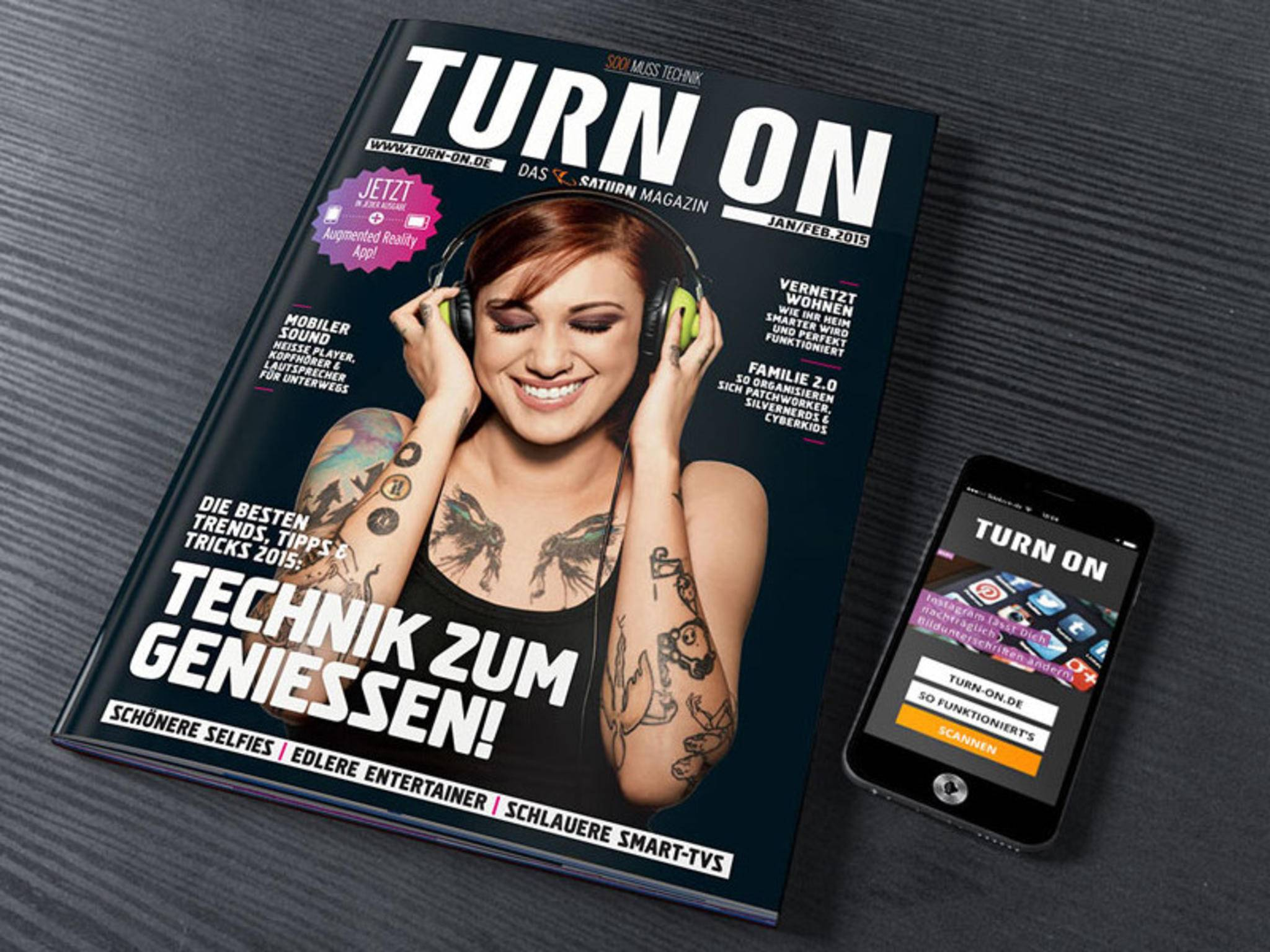 TURN ON Magazin App
