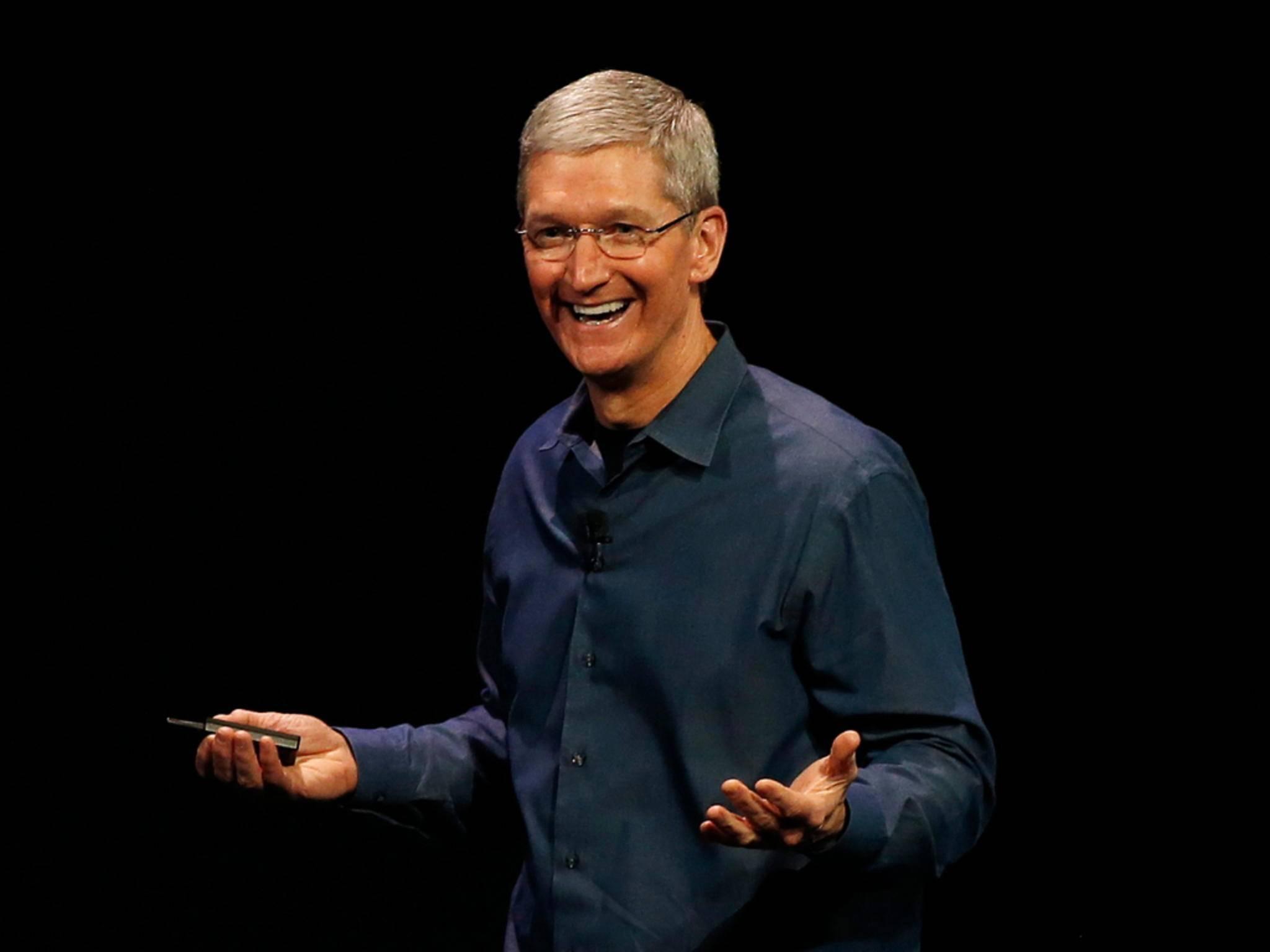 Tim Cook war im Jahr 2014 nicht einmal der bestverdienende Apple-Mitarbeiter.