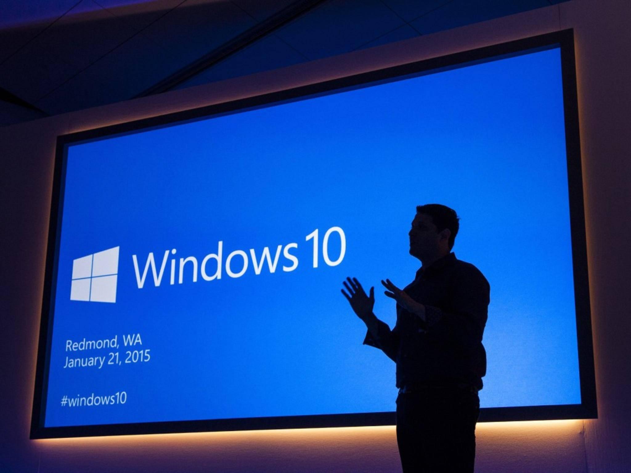 Windows 10 erscheint Ende Juli.