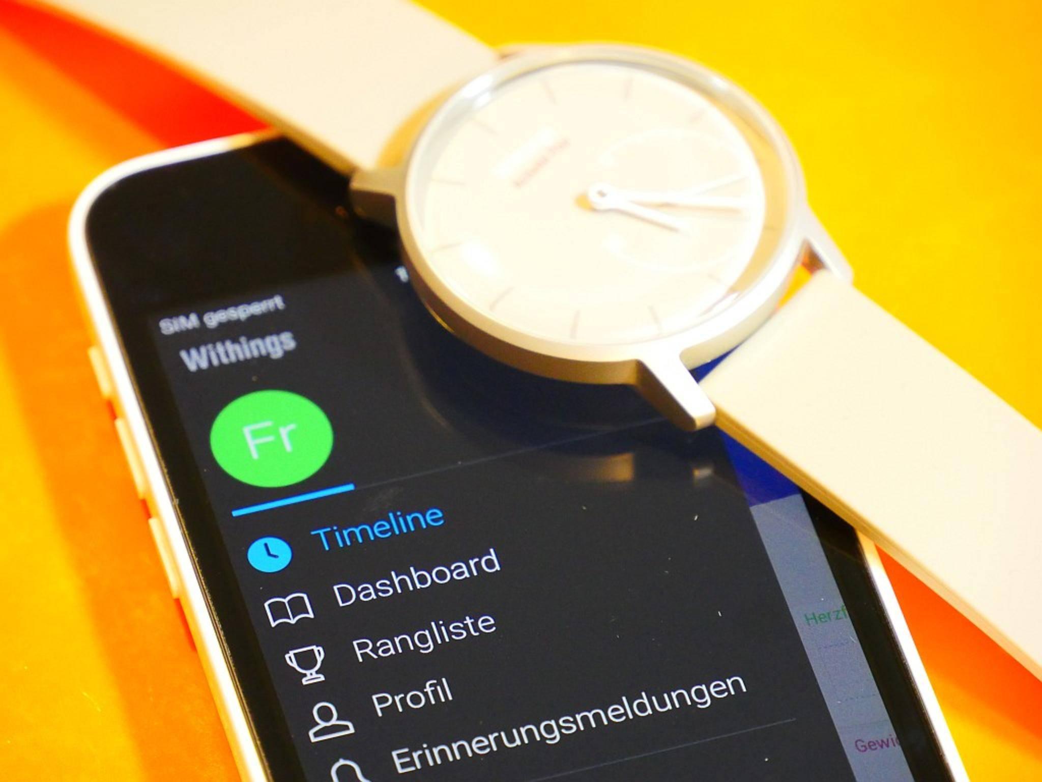 Demnächst unter neuem Namen: Withings-Produkte laufen ab dem Frühsommer 2017 unter dem Markennamen Nokia.