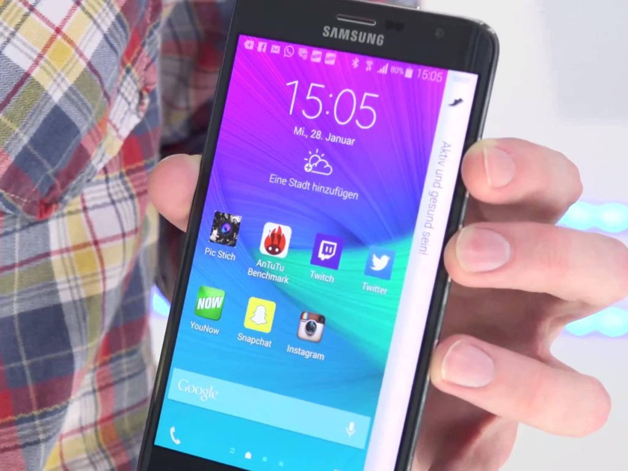 Das Galaxy Note Edge kann viel und kostet viel.