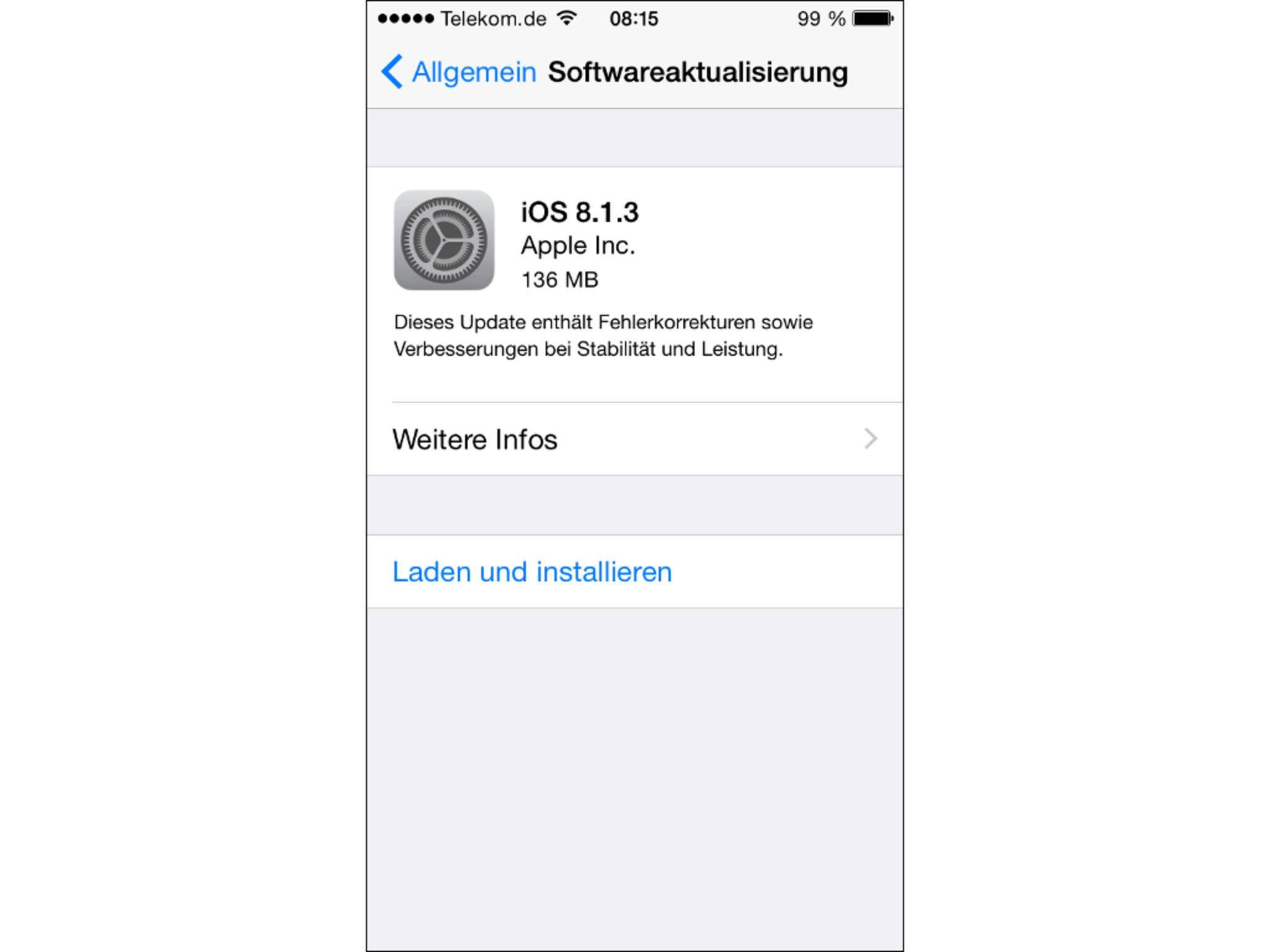 iOS 8.1.3 schließt zahlreiche Sicherheitslücken.