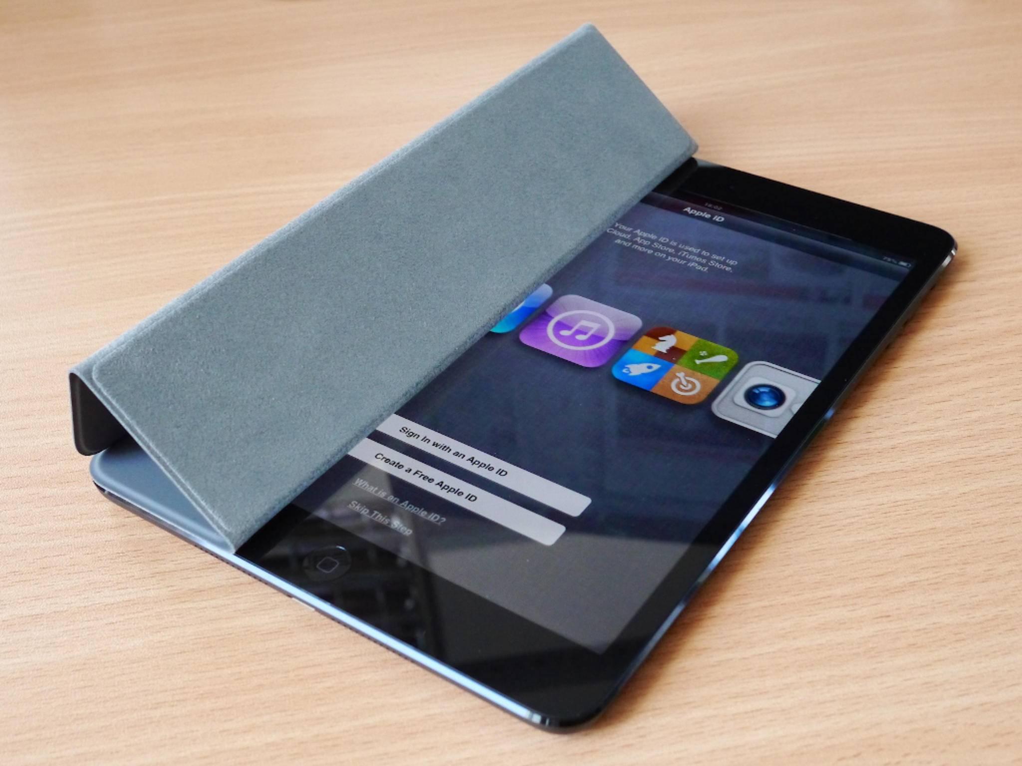 iPad mini mit Cover