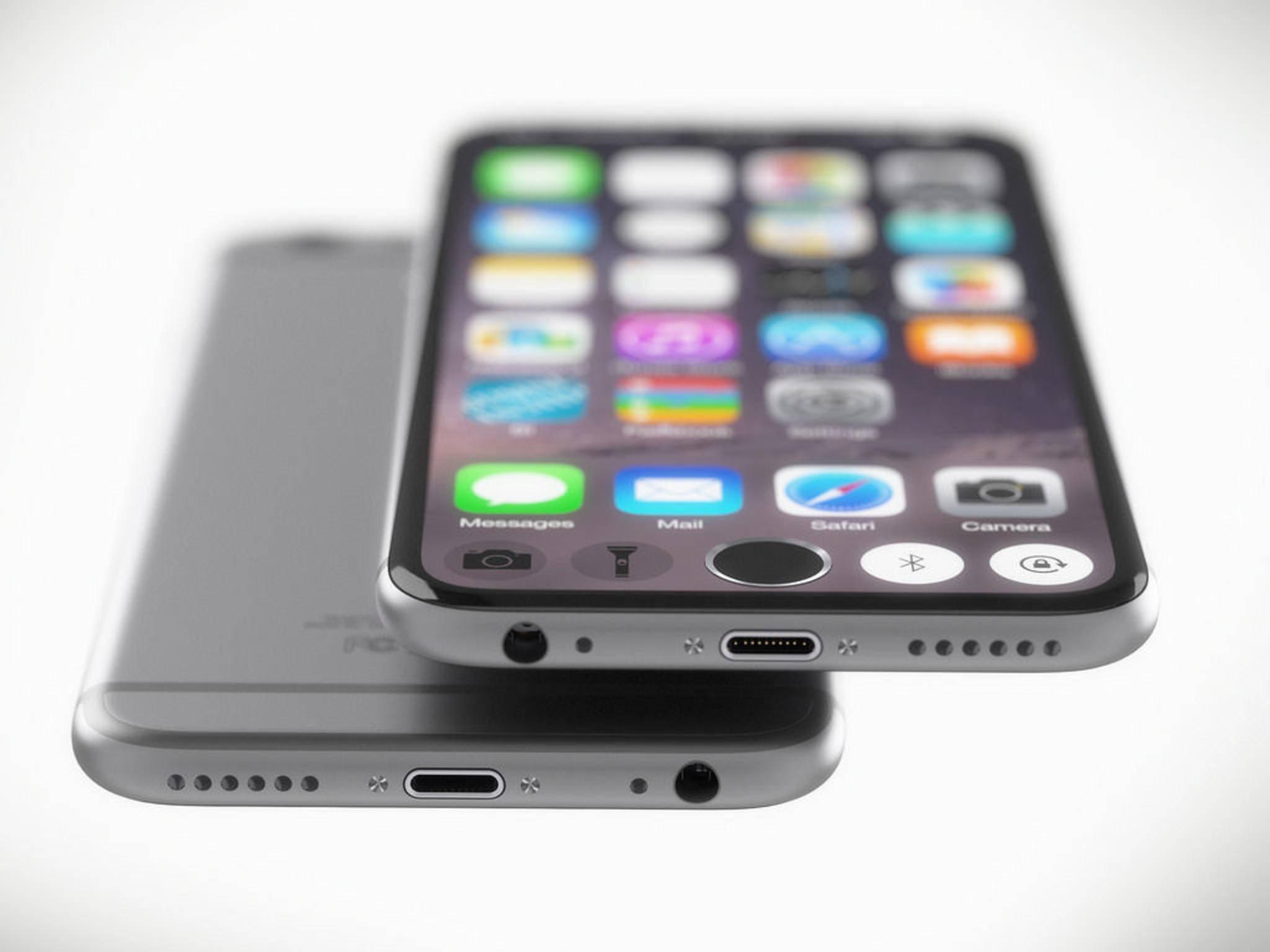 Ob das iPhone 6s tatsächlich so aussehen wird, ist noch völlig offen.