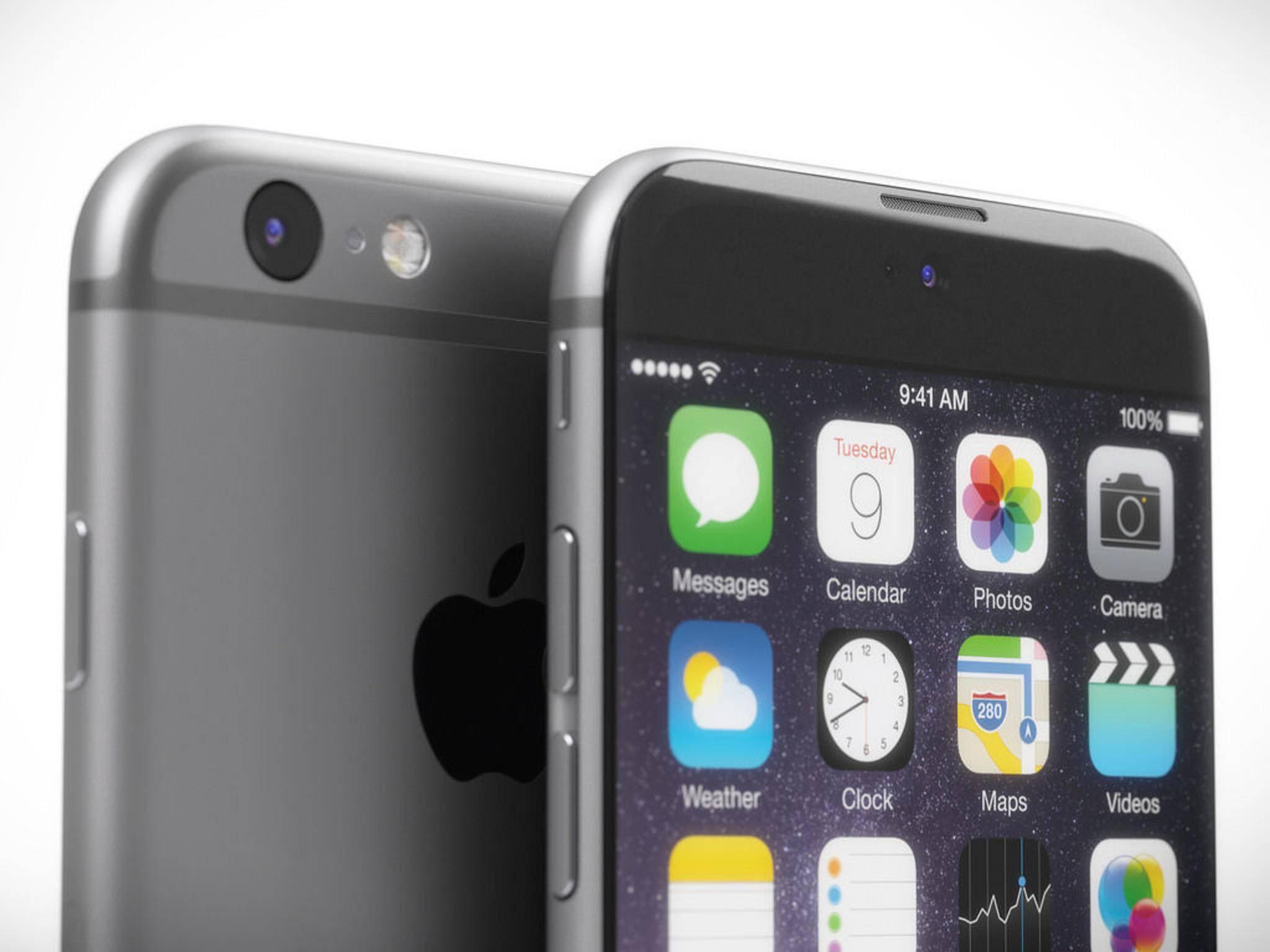 Das nächste iPhone wird wahrscheinlich im September 2015 vorgestellt.
