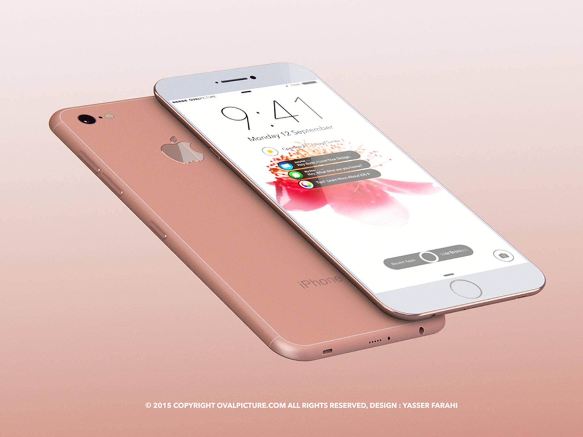 So könnte das iPhone 7 laut Designer Yasser Farahi aussehen.