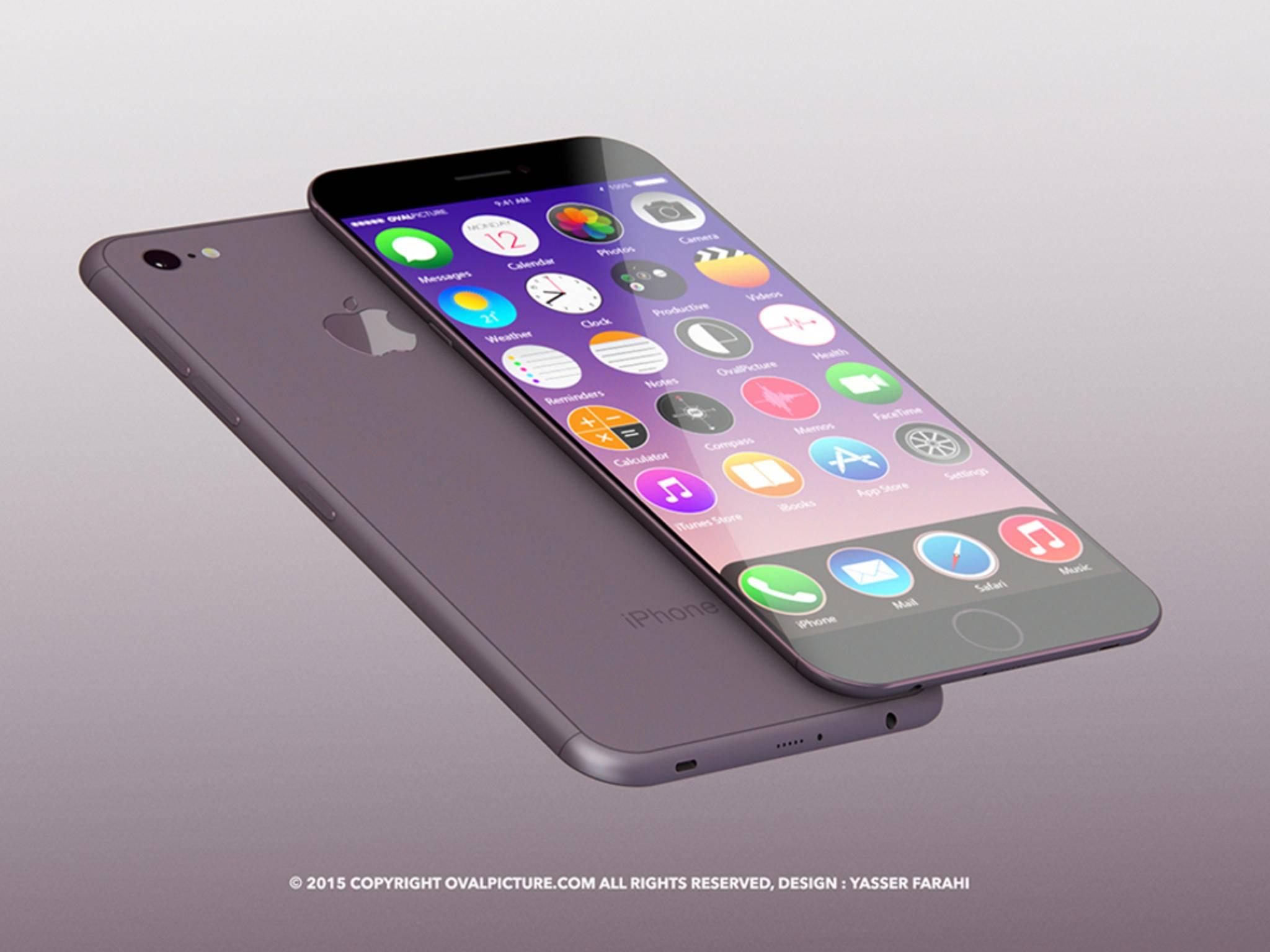 Das iPhone 8 soll voraussichtlich ein OLED-Display von Samsung bekommen.