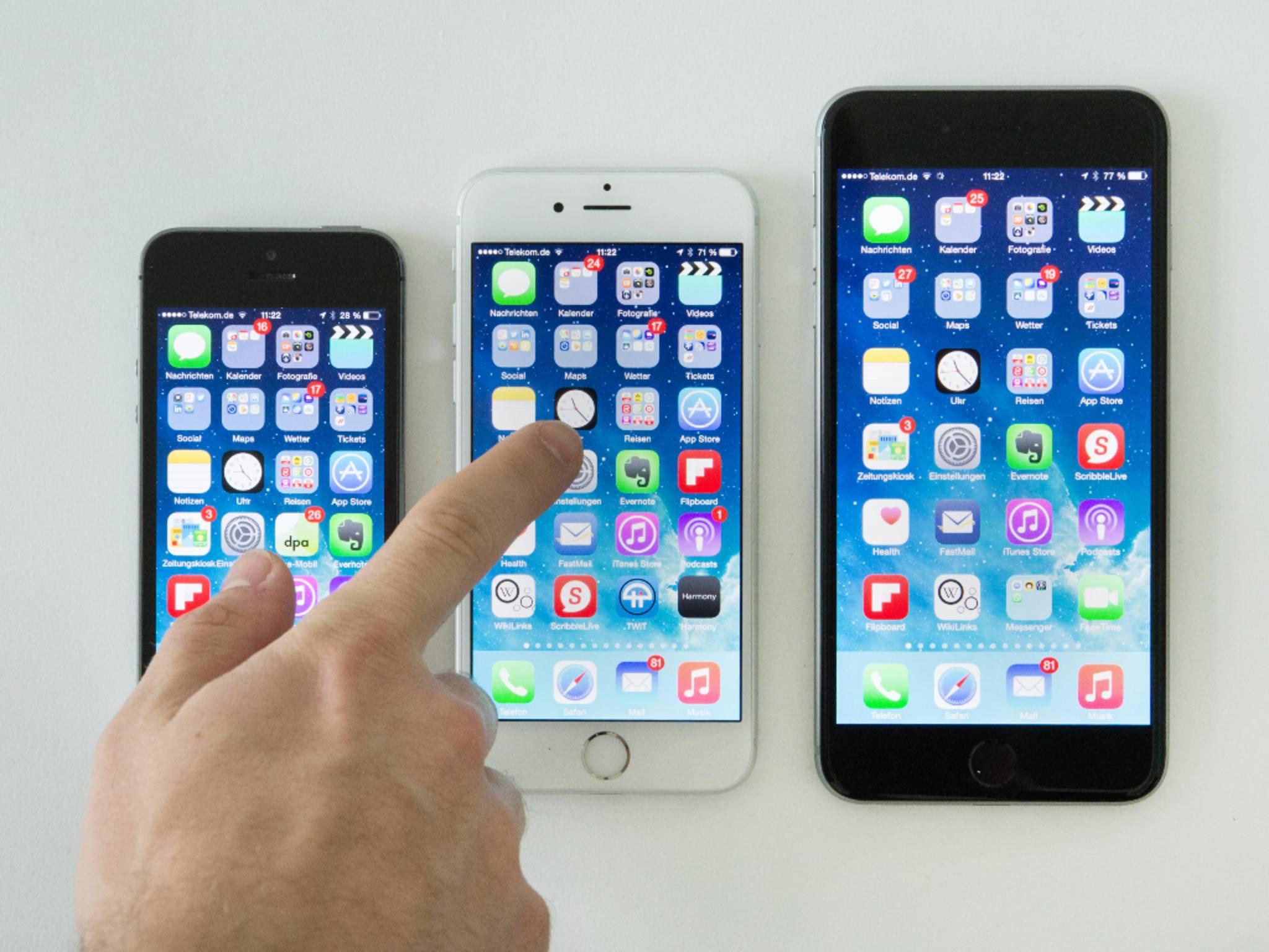 Auf das iPhone 6 umziehen