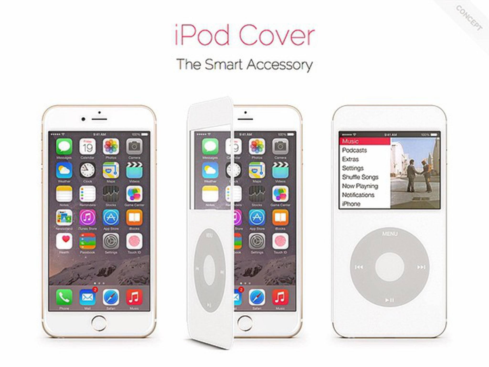 Dieses Cover könnte das iPhone 6 in einen iPod Classic verwandeln.