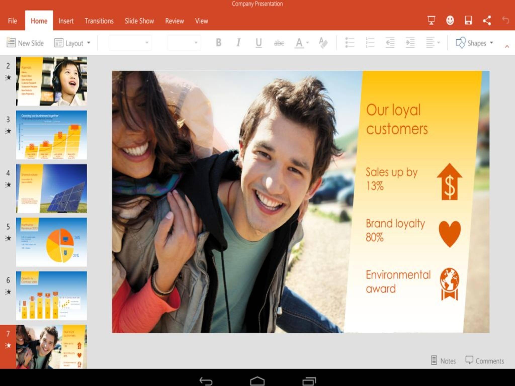 Da strahlt der Tester: Previews der Office-Apps sind jetzt frei verfügbar.
