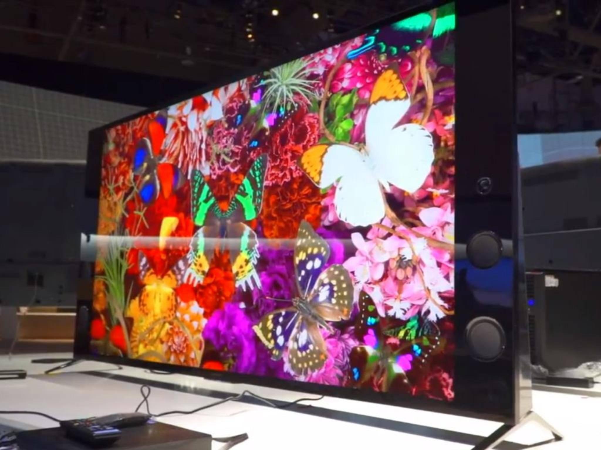 Was fürs Auge: Sonys TV-Lineup ist schon jetzt vielversprechend.