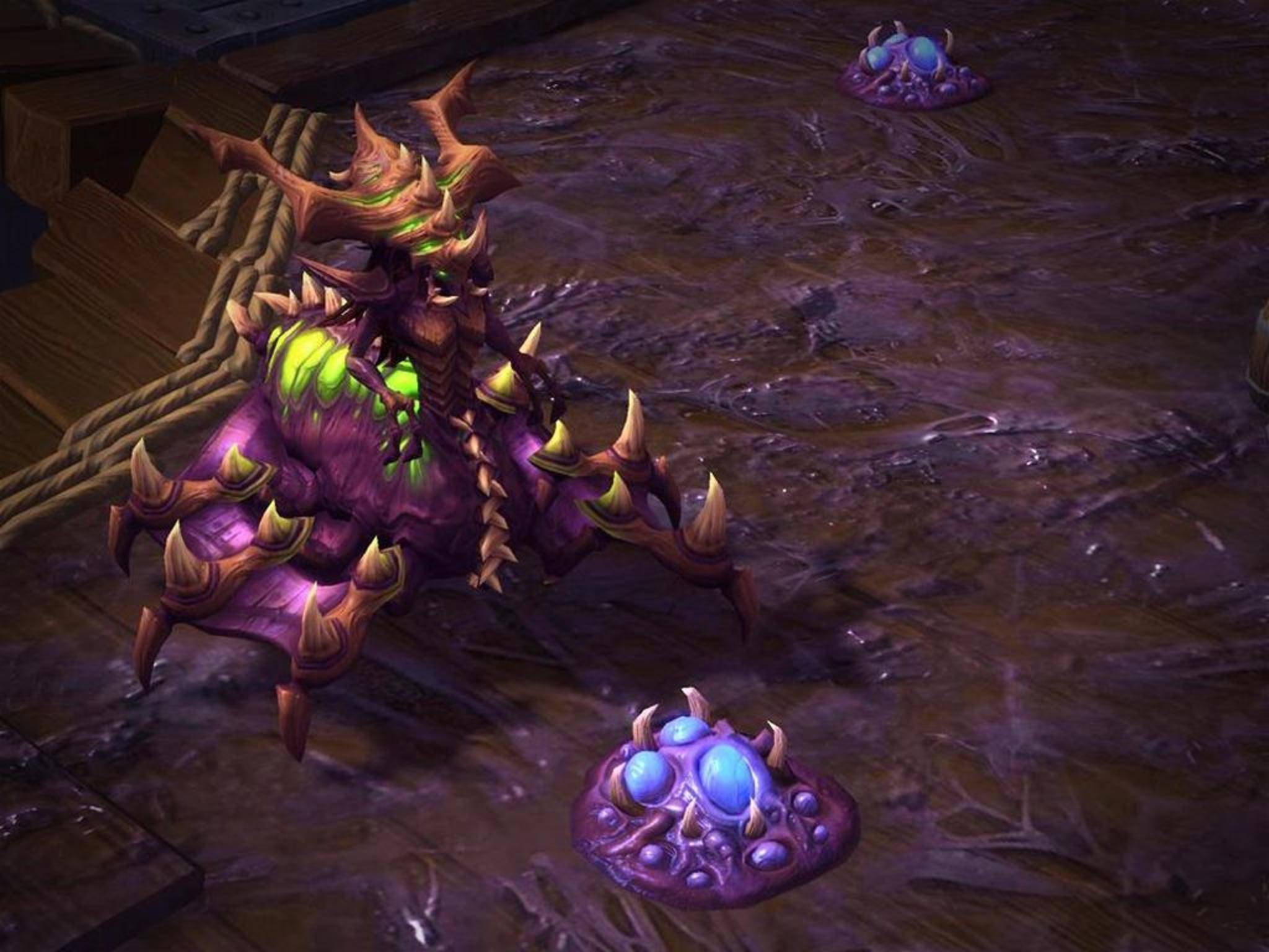 "In ""Heroes of the Storm"" treten Fünfer-Teams gegeneinander an."