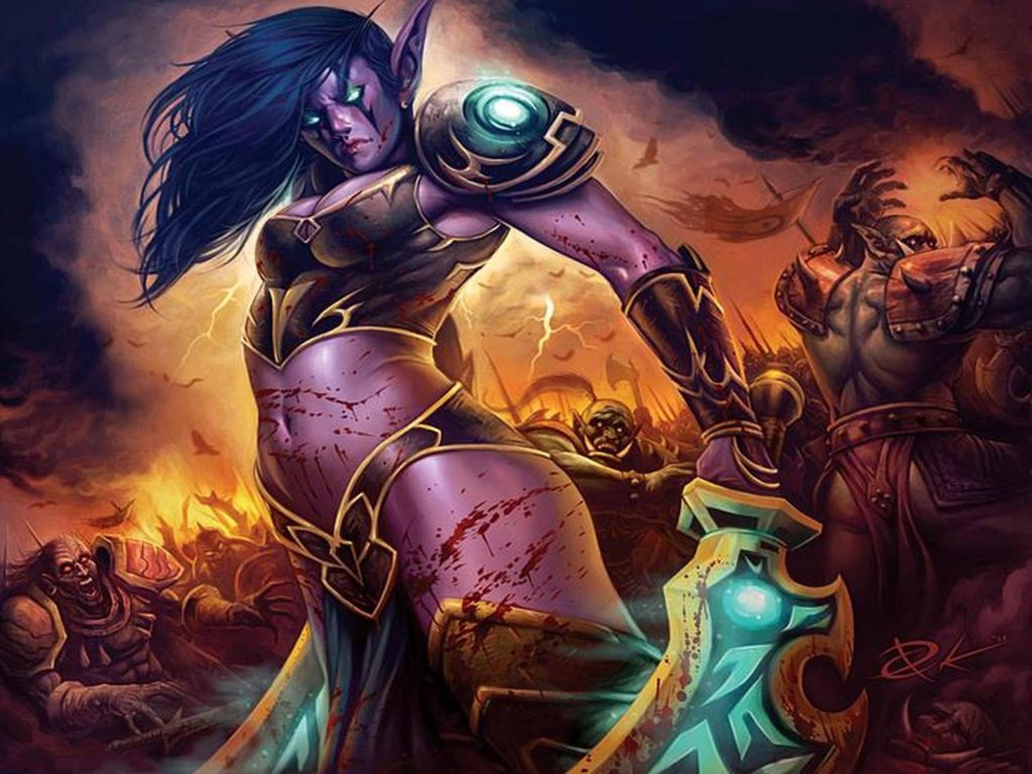 """""""World of Warcraft"""" hat jetzt einen speziellen Modus für Farbenblinde."""