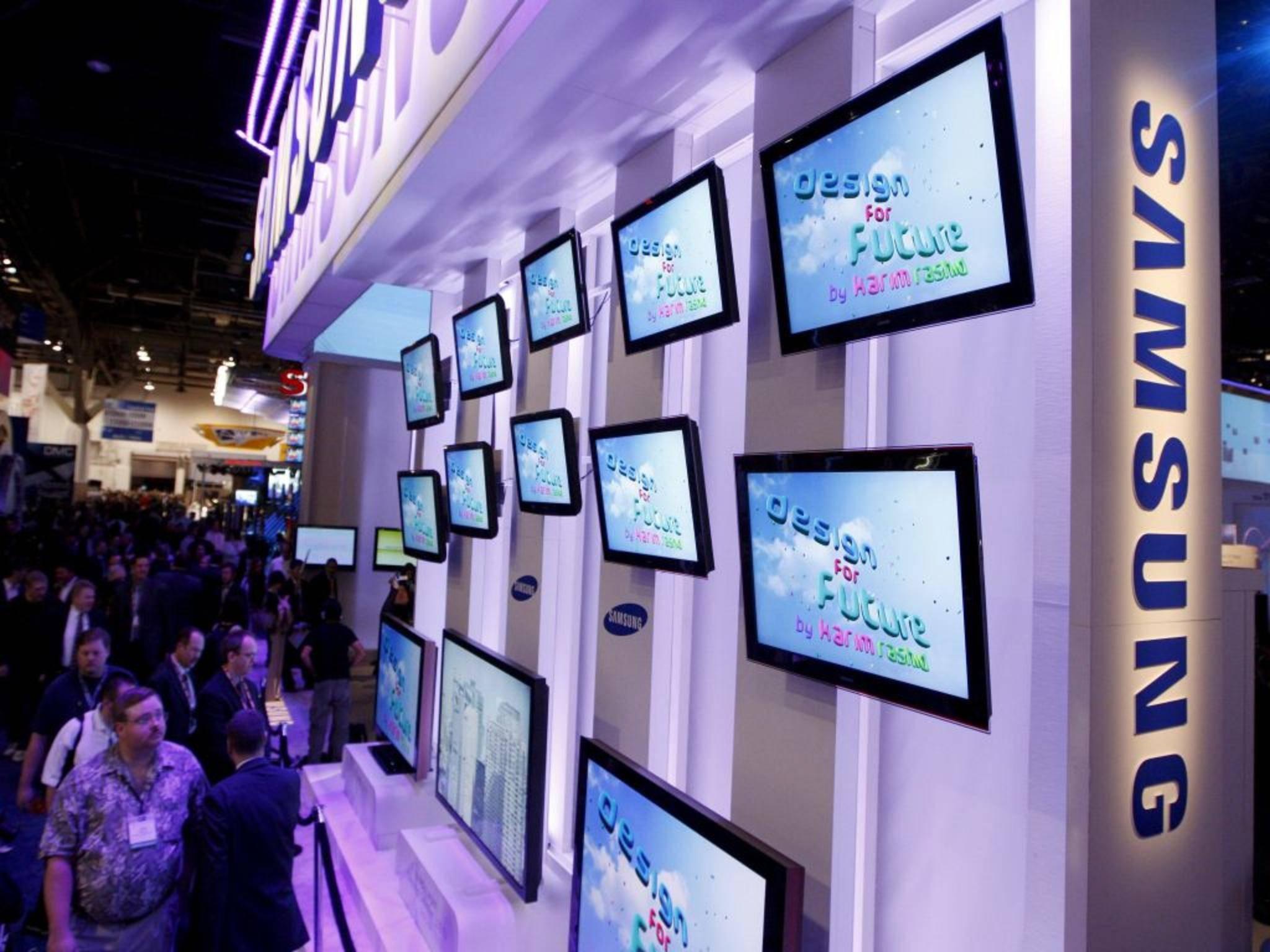 """""""Hey, du! Ja, du! Erzähl mir all deine Geheimnisse..."""" – Samsungs Smart TVs hören mit."""